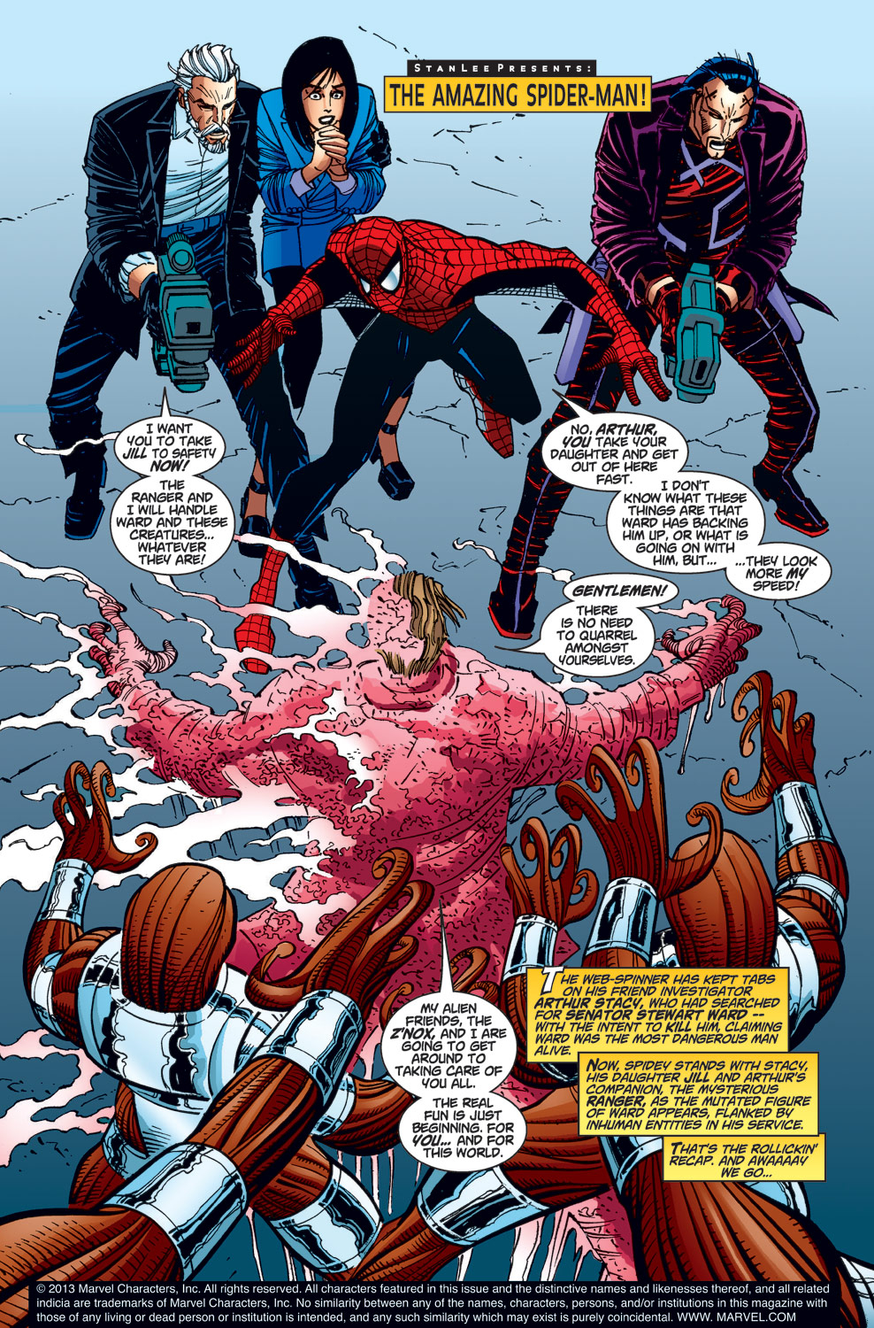 The Amazing Spider-Man (1999) 24 Page 1