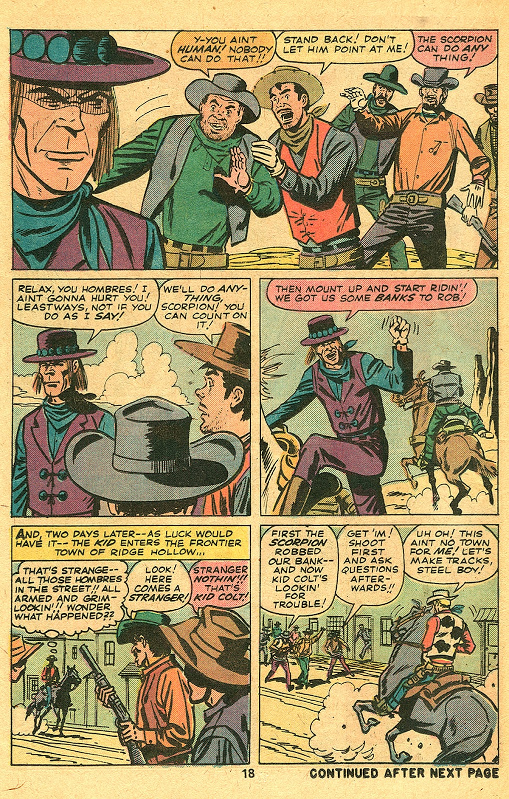 Kid Colt Outlaw issue 193 - Page 20