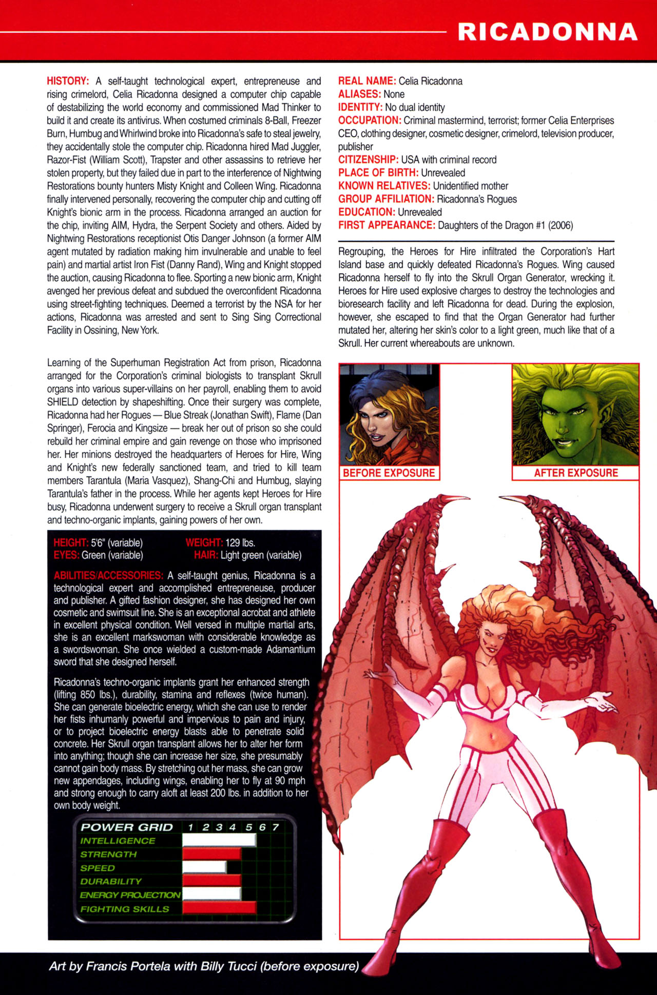 Read online All-New Official Handbook of the Marvel Universe A to Z: Update comic -  Issue #4 - 39