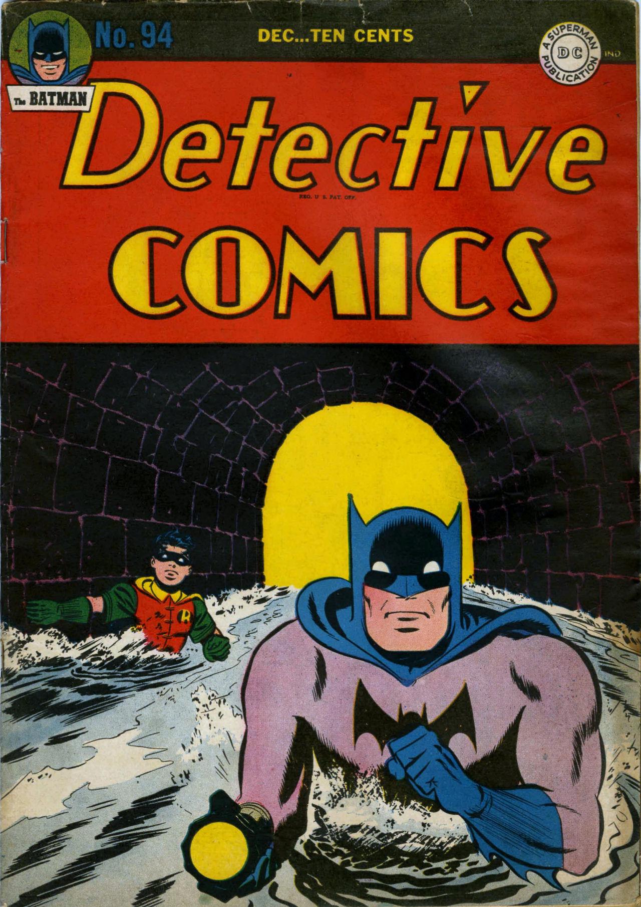 Read online Detective Comics (1937) comic -  Issue #94 - 1