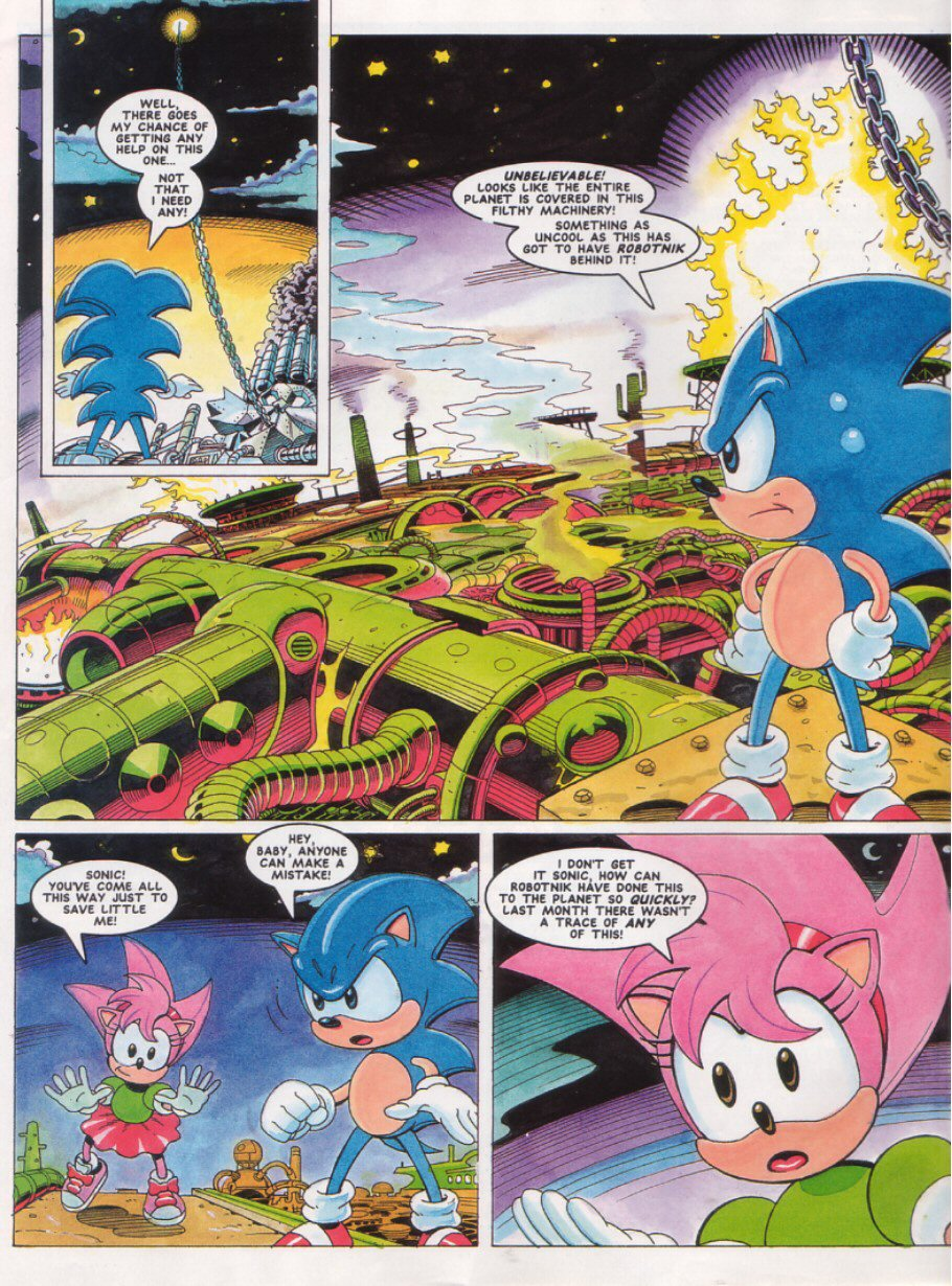 Read online Sonic the Comic comic -  Issue #27 - 4