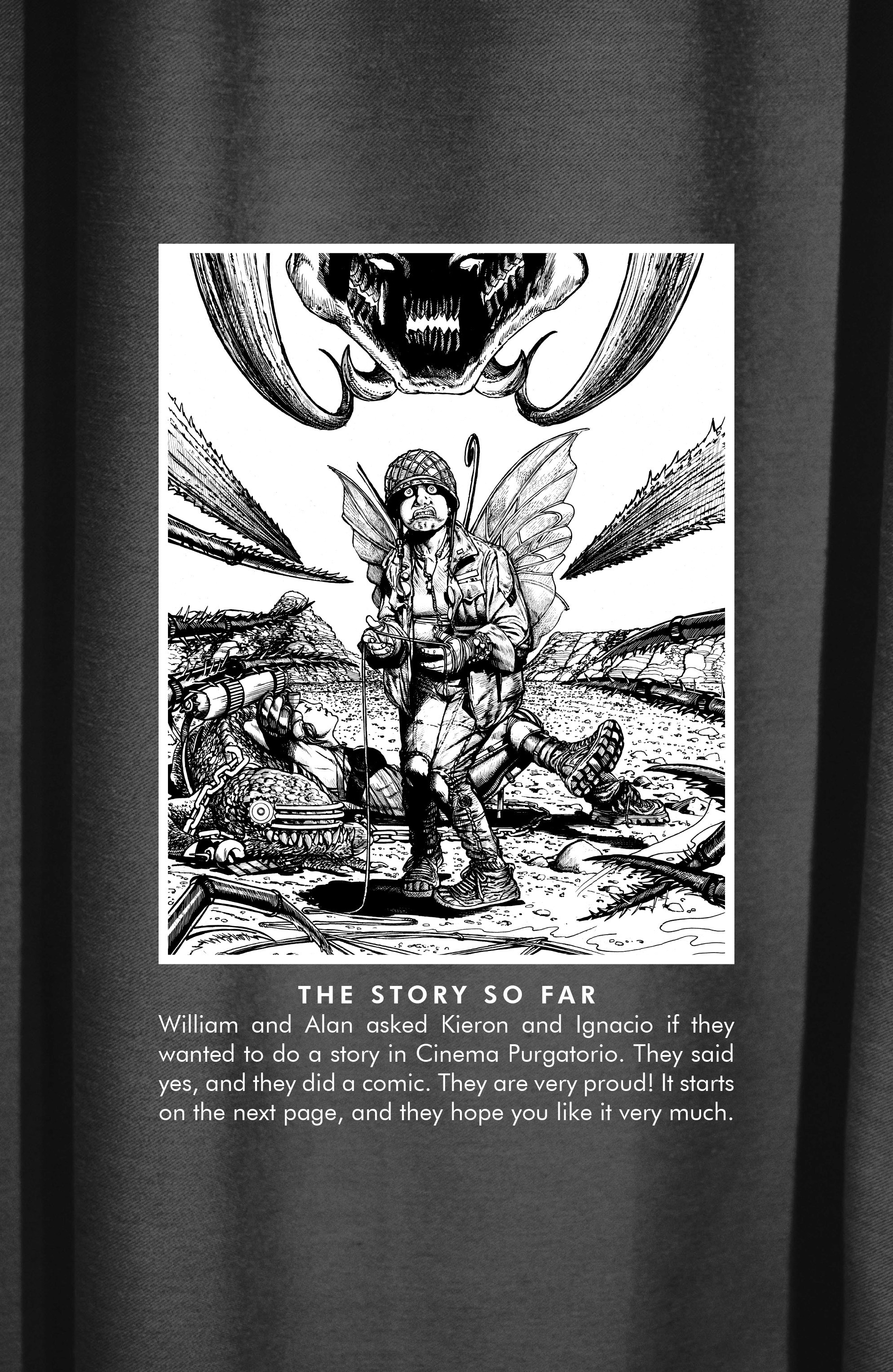 Read online Alan Moore's Cinema Purgatorio comic -  Issue #1 - 24