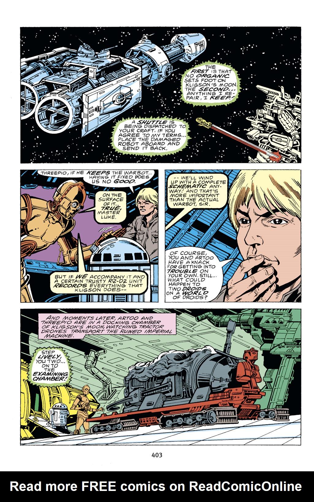 Read online Star Wars Omnibus comic -  Issue # Vol. 14 - 398