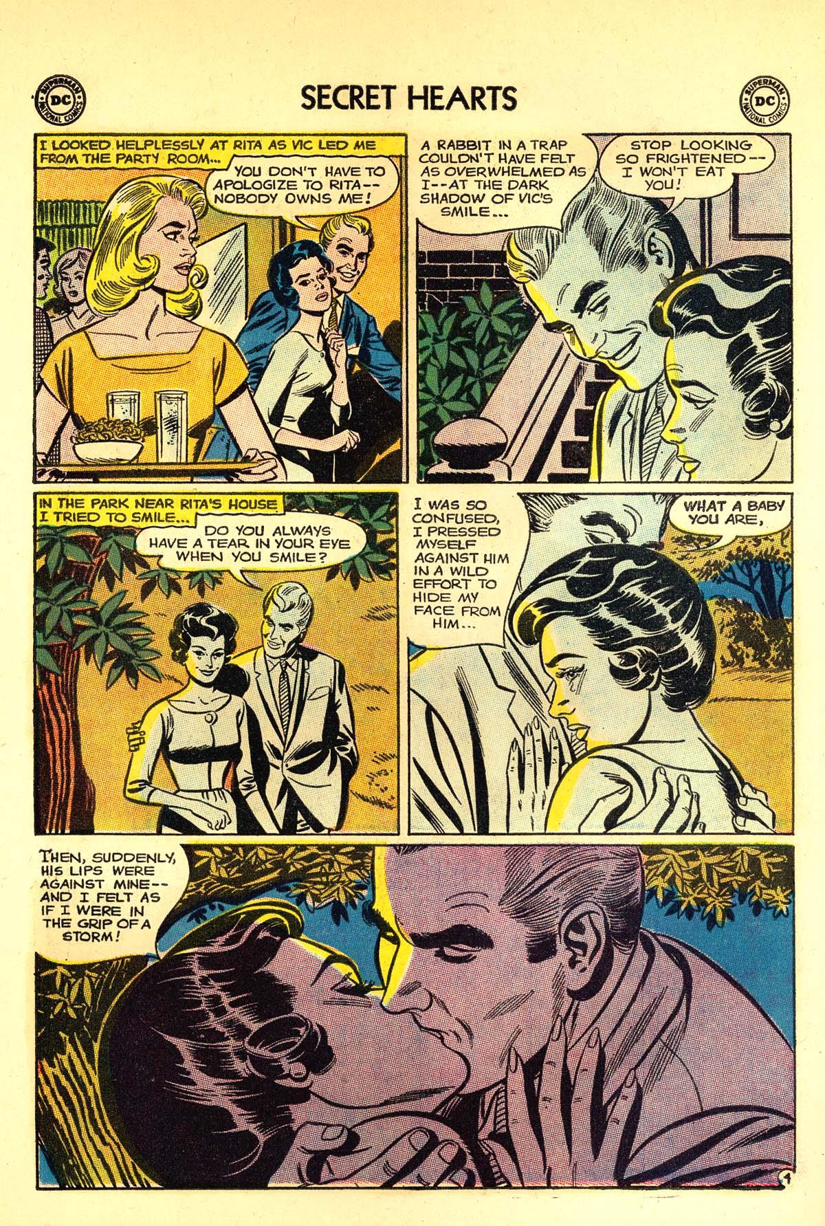 Read online Secret Hearts comic -  Issue #89 - 30