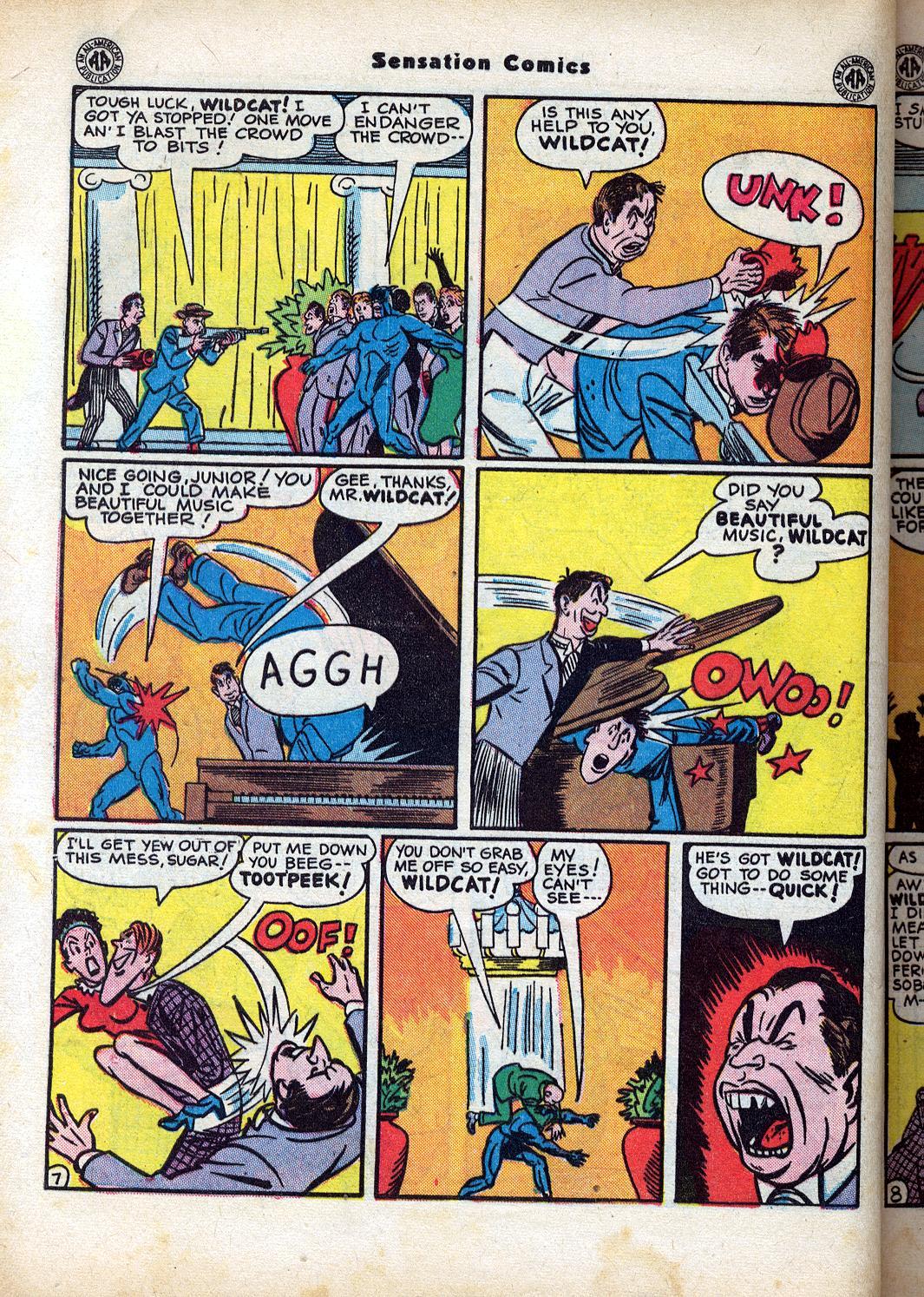 Read online Sensation (Mystery) Comics comic -  Issue #47 - 48