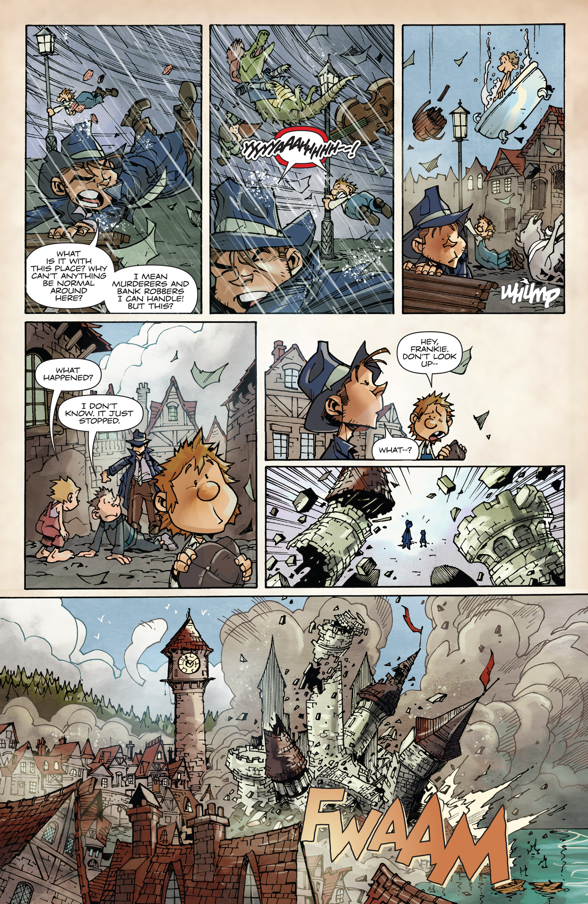 Read online Fiction Squad comic -  Issue #2 - 23