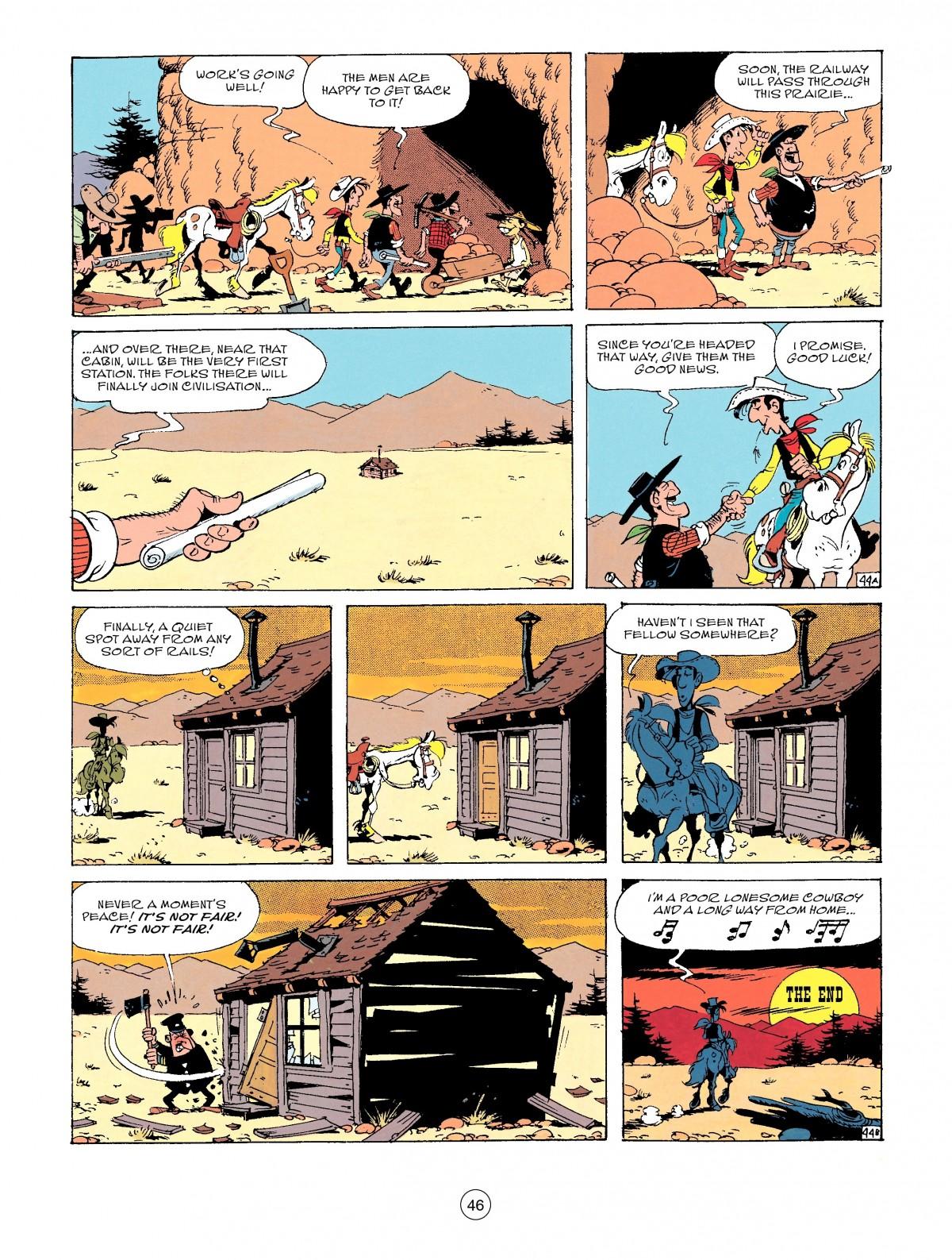 Read online A Lucky Luke Adventure comic -  Issue #53 - 46