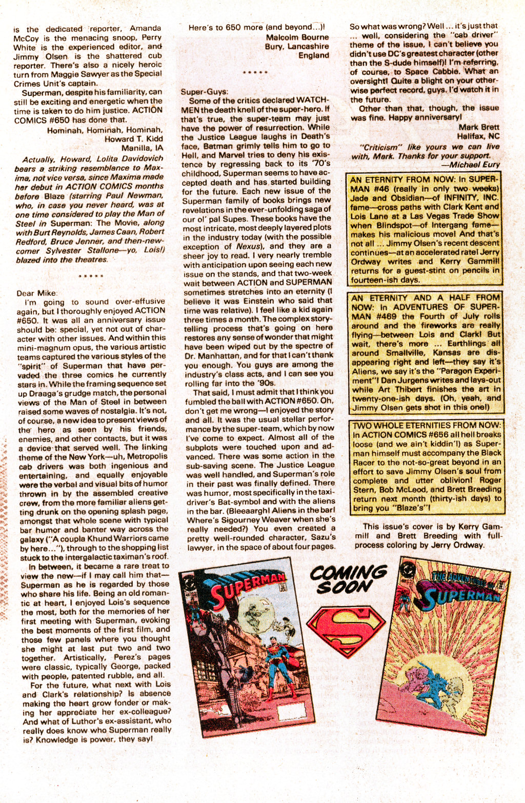 Read online Action Comics (1938) comic -  Issue #655 - 32