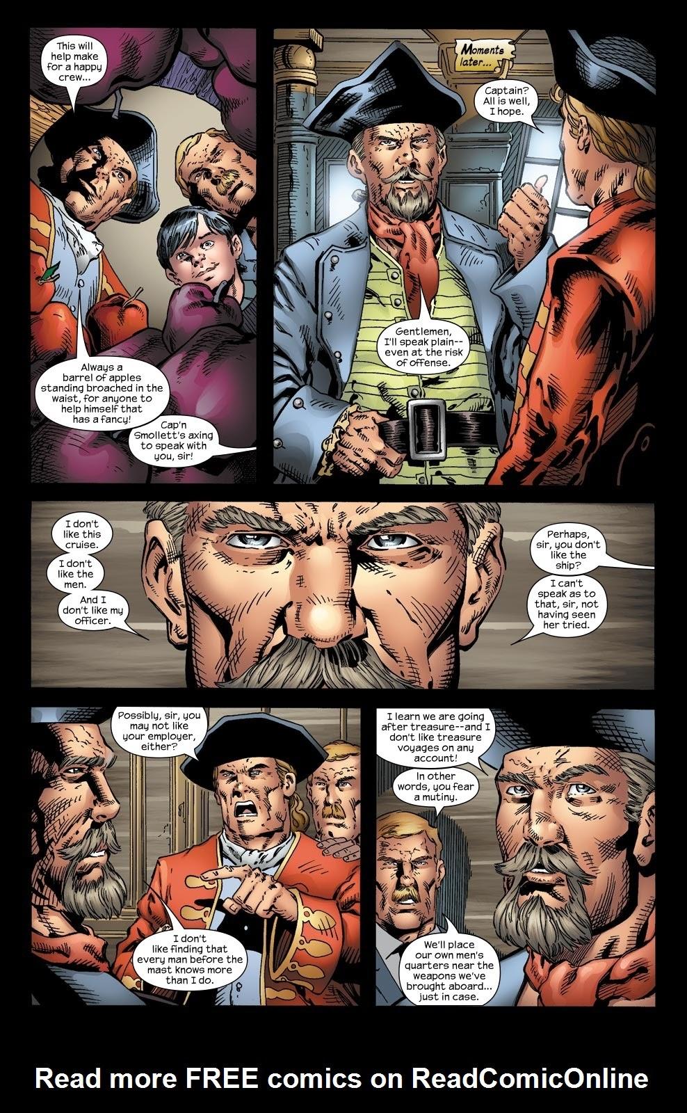 Read online Treasure Island comic -  Issue #2 - 17