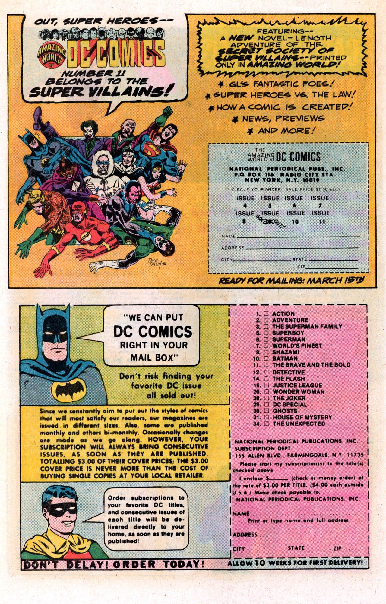 Read online Secret Society of Super-Villains comic -  Issue #2 - 20