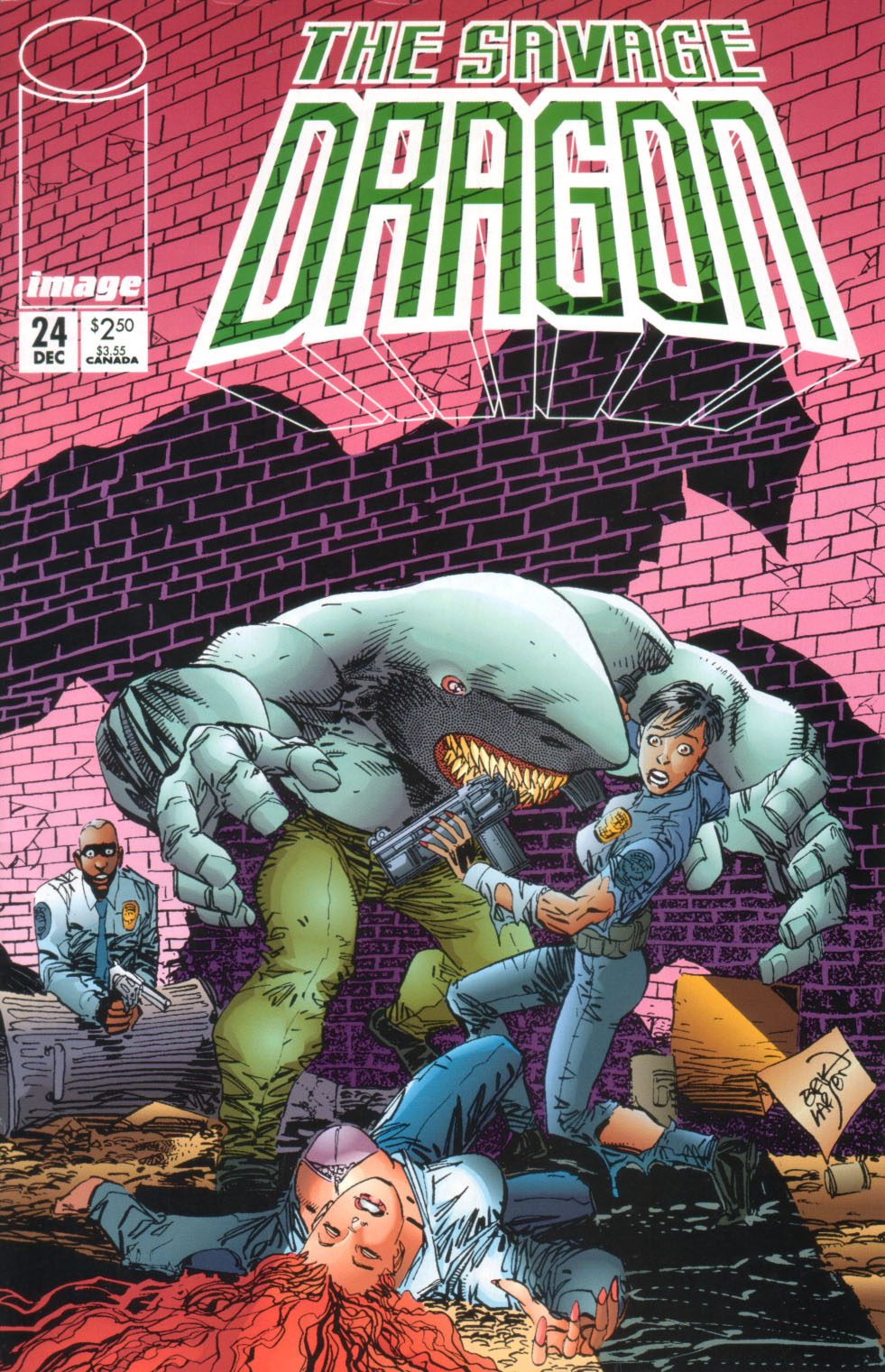 The Savage Dragon (1993) Issue #24 #27 - English 2