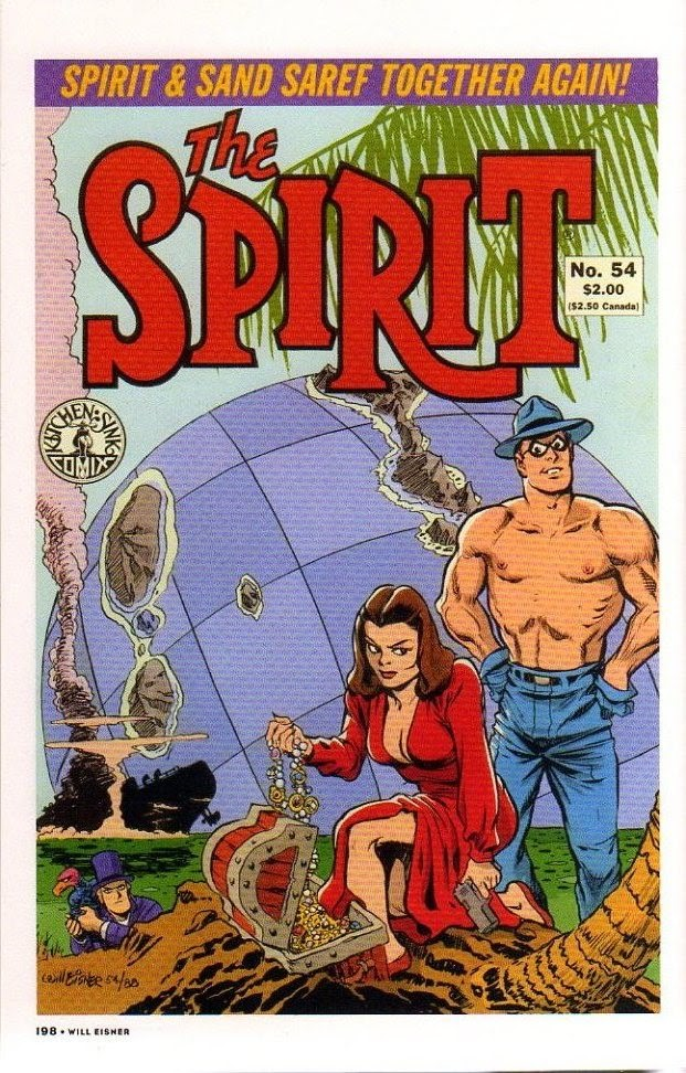 Read online Will Eisner's The Spirit Archives comic -  Issue # TPB 26 (Part 3) - 5