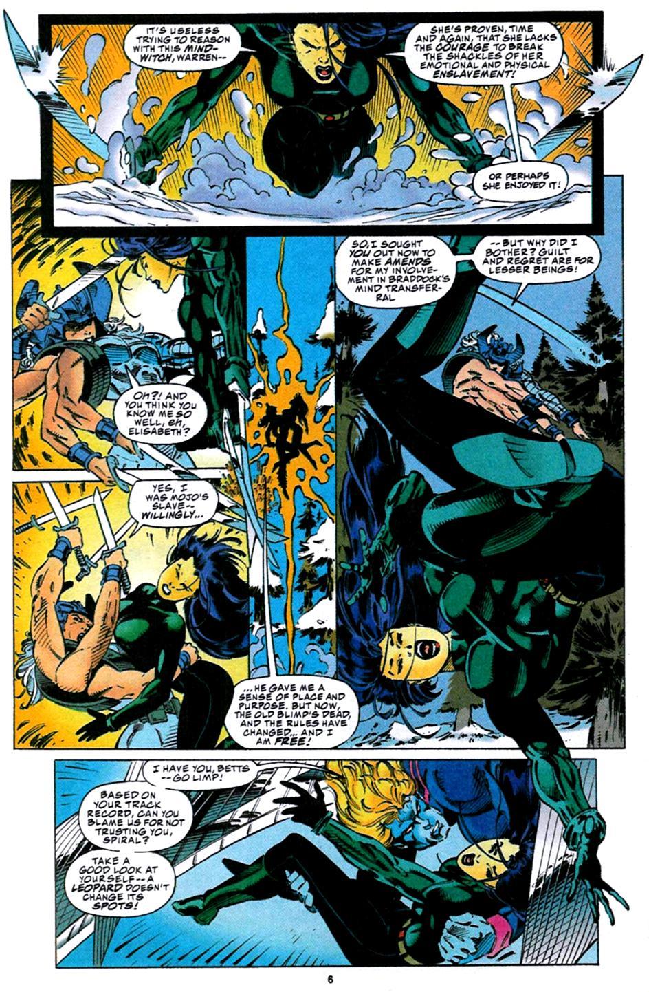 X-Men (1991) 32 Page 4