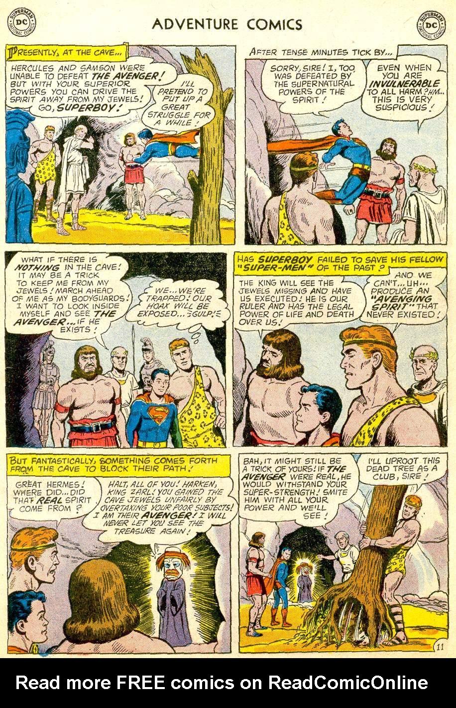 Read online Adventure Comics (1938) comic -  Issue #257 - 13