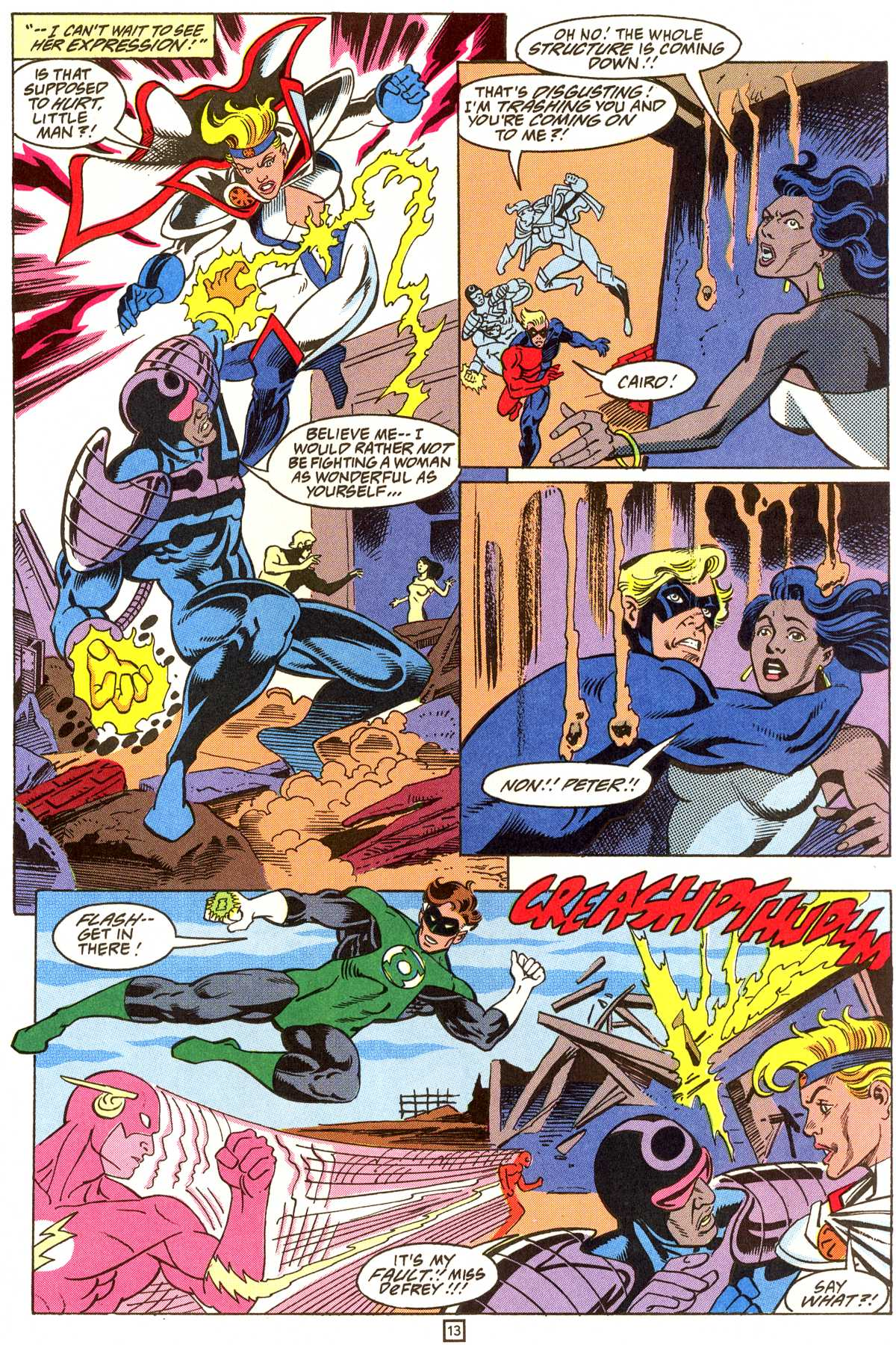 Read online Peter Cannon--Thunderbolt (1992) comic -  Issue #9 - 14