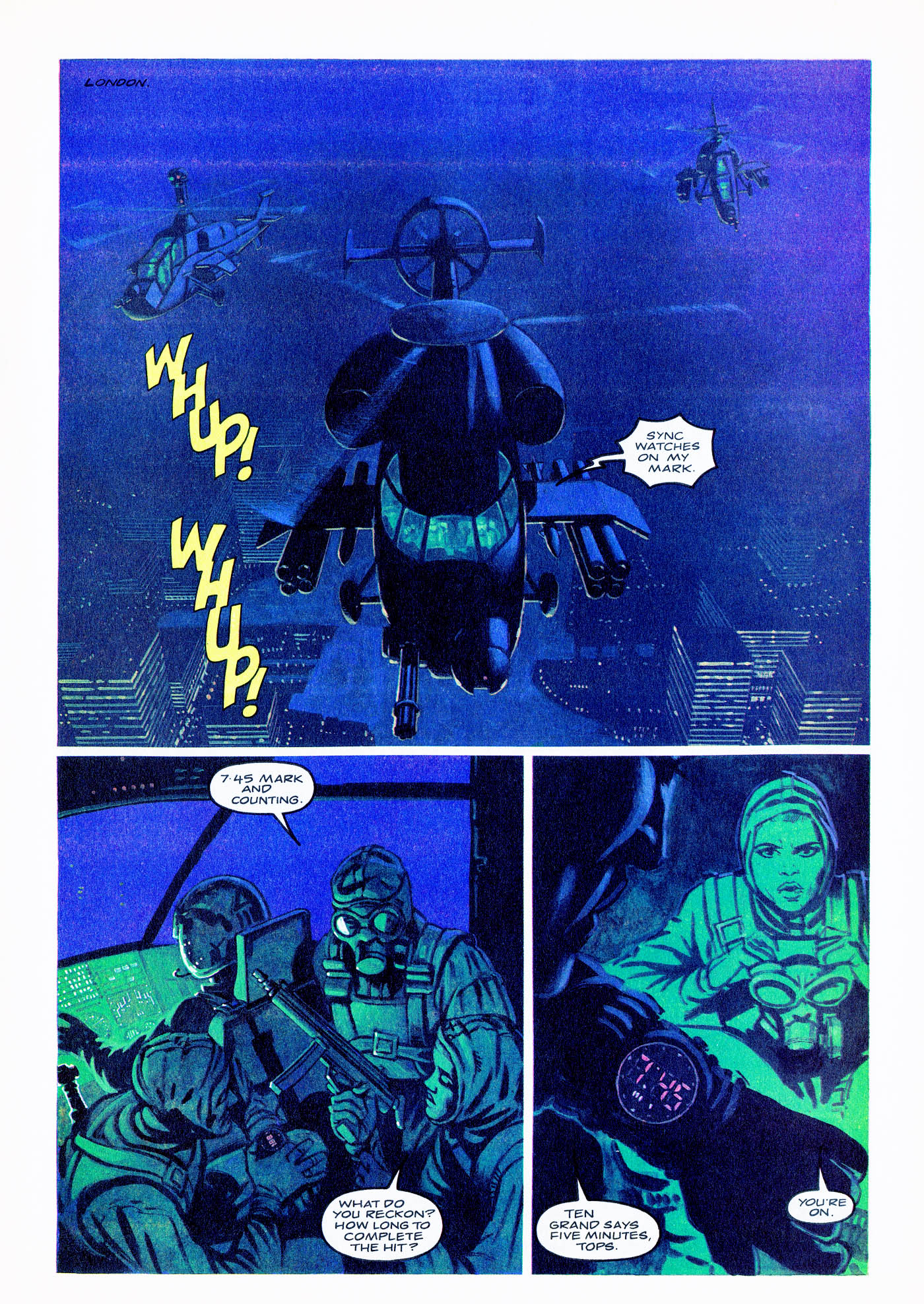 Read online Overkill comic -  Issue #2 - 17