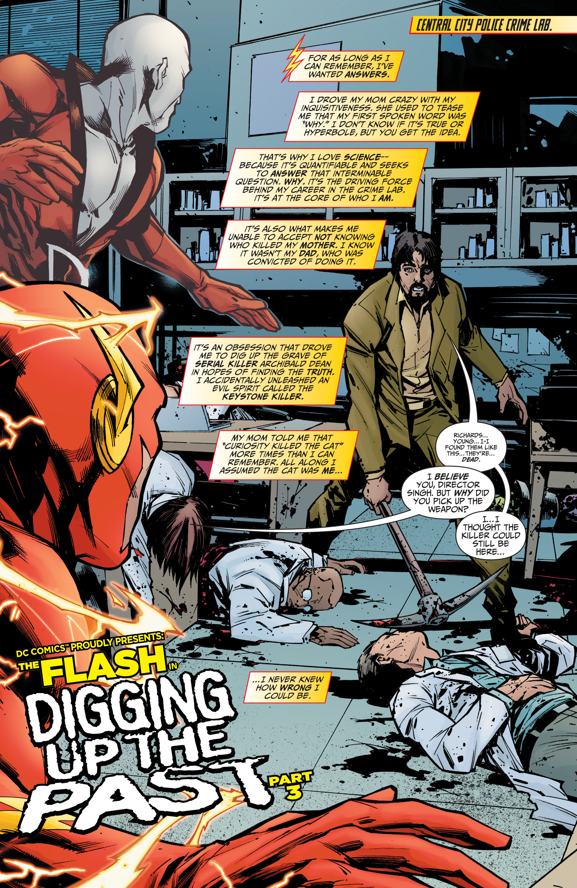 Read online The Flash (2011) comic -  Issue # _TPB 5 - 106