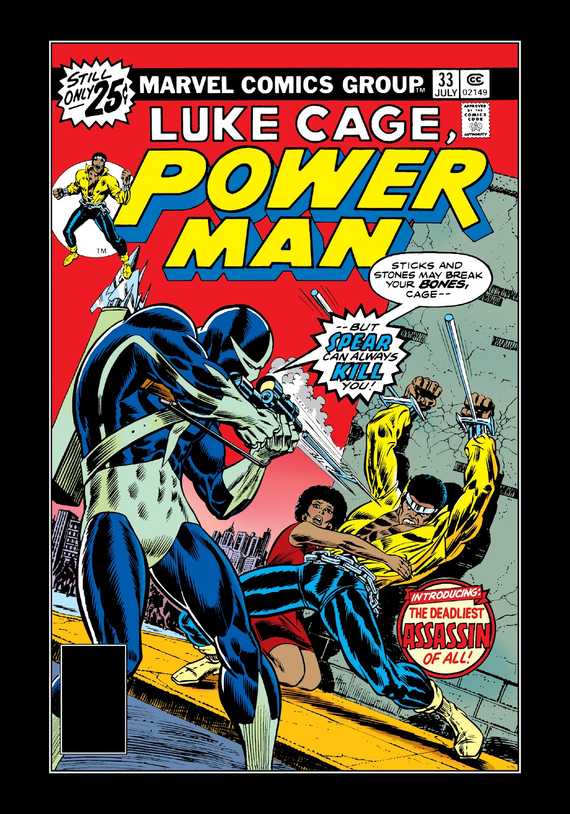 Read online Marvel Masterworks: Luke Cage, Power Man comic -  Issue # TPB 3 (Part 1) - 27