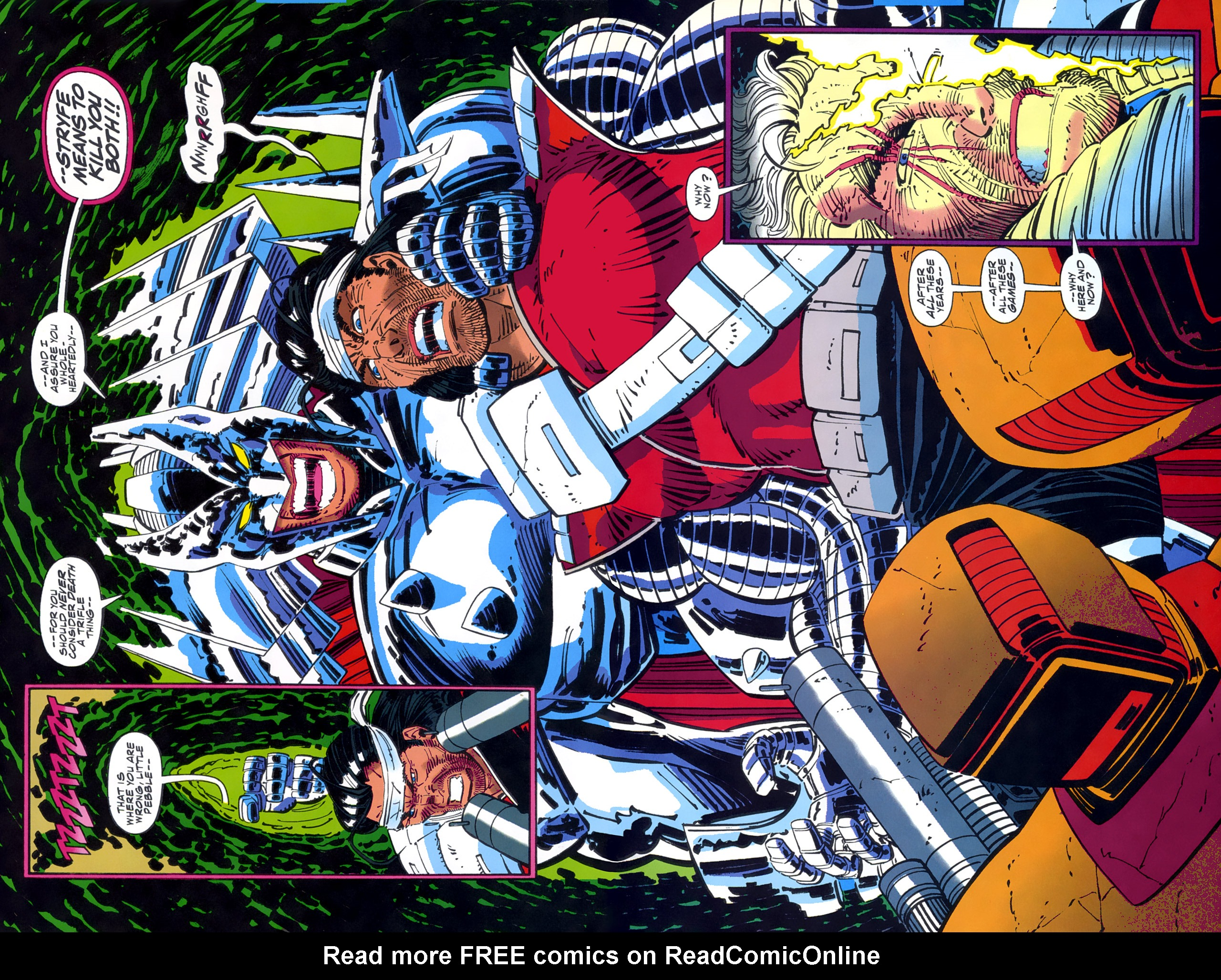 Read online Cable - Blood and Metal comic -  Issue #2 - 27
