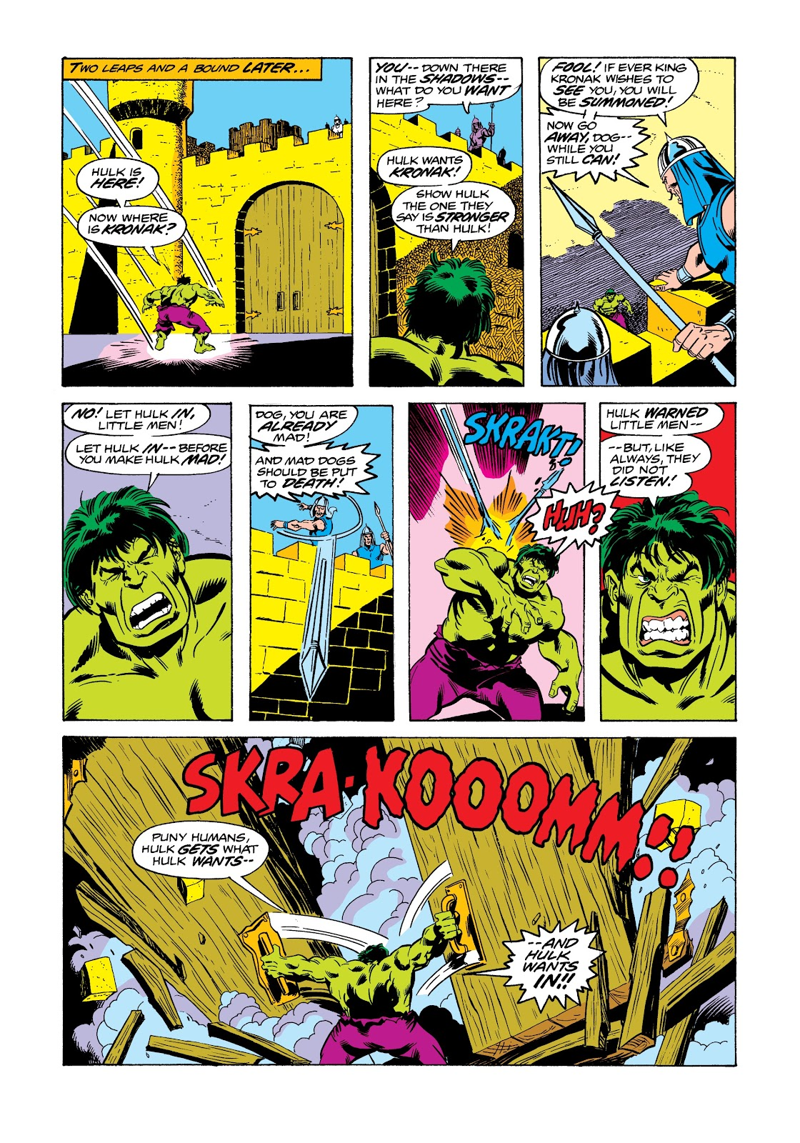 Read online Marvel Masterworks: The Incredible Hulk comic -  Issue # TPB 12 (Part 2) - 25