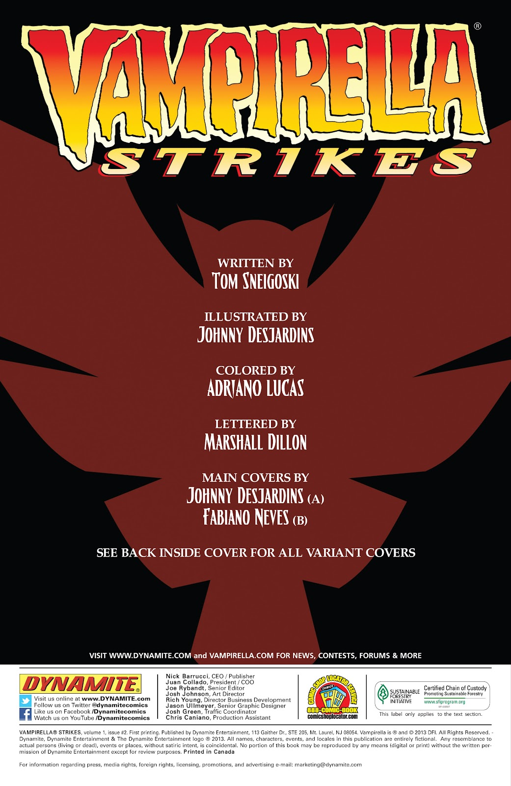 Read online Vampirella Strikes comic -  Issue #2 - 3