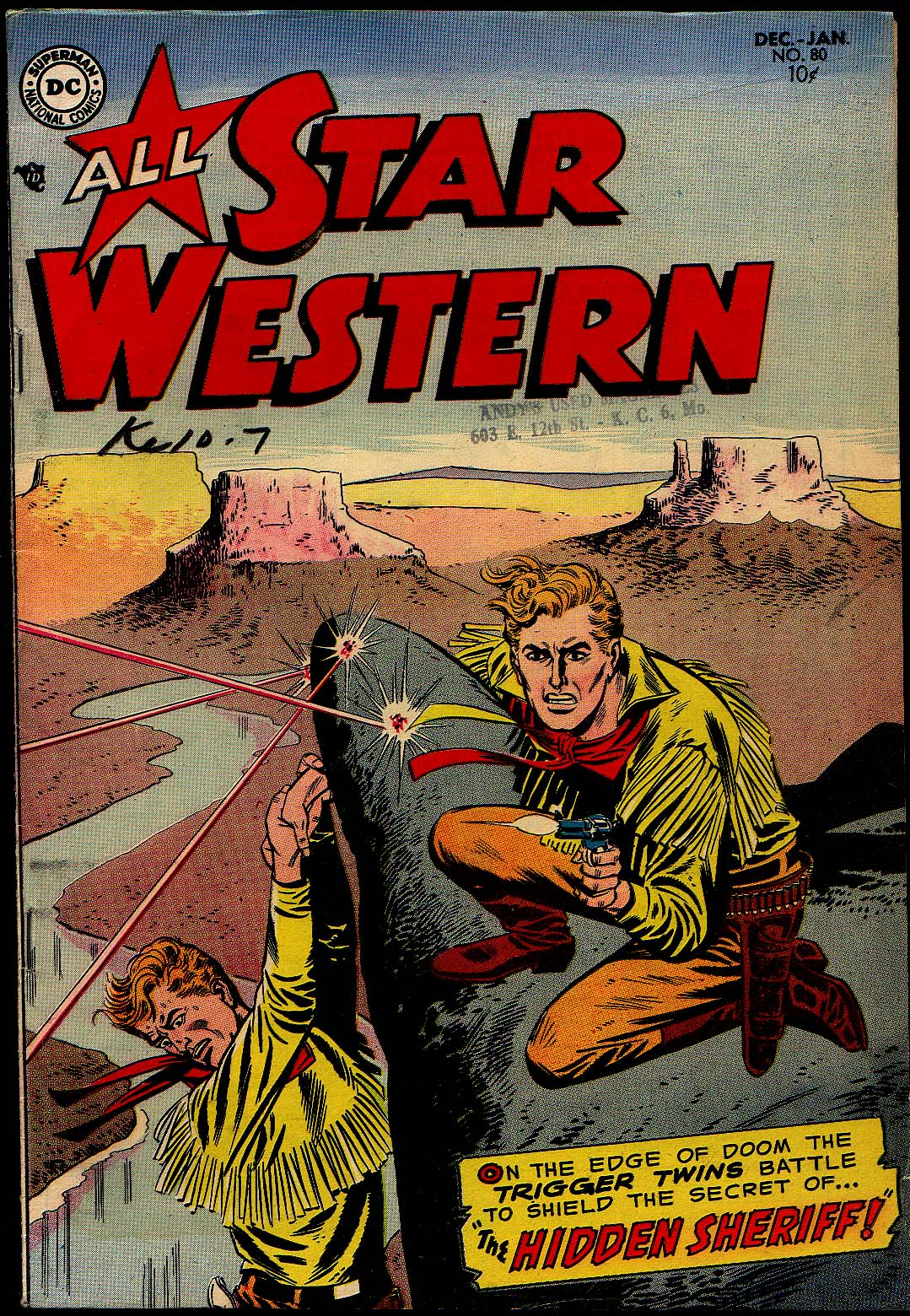 All-Star Western (1951) issue 80 - Page 1