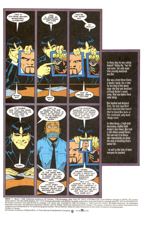 Read online Xero comic -  Issue #11 - 3