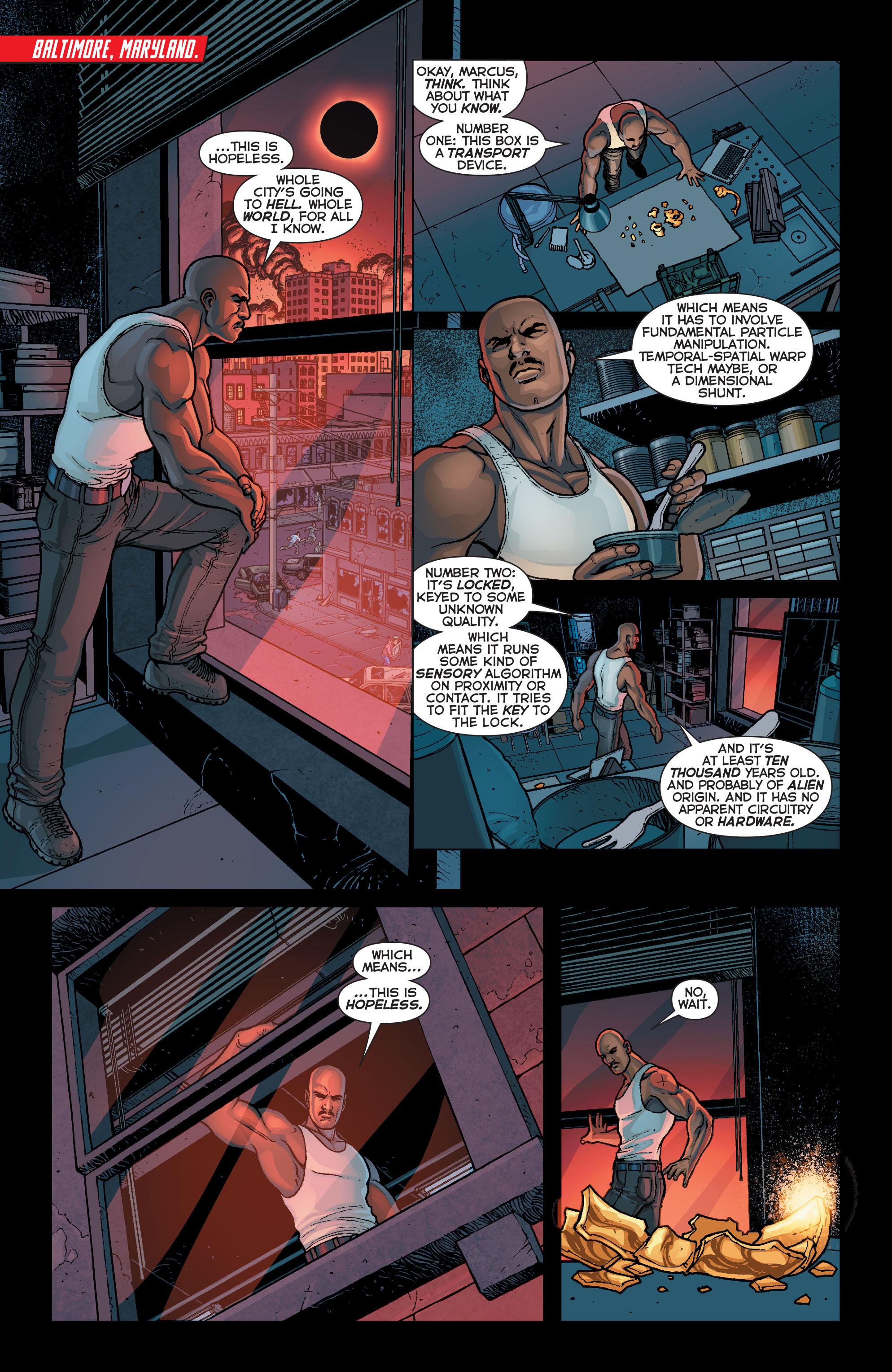 Read online Trinity of Sin: Pandora comic -  Issue #5 - 10