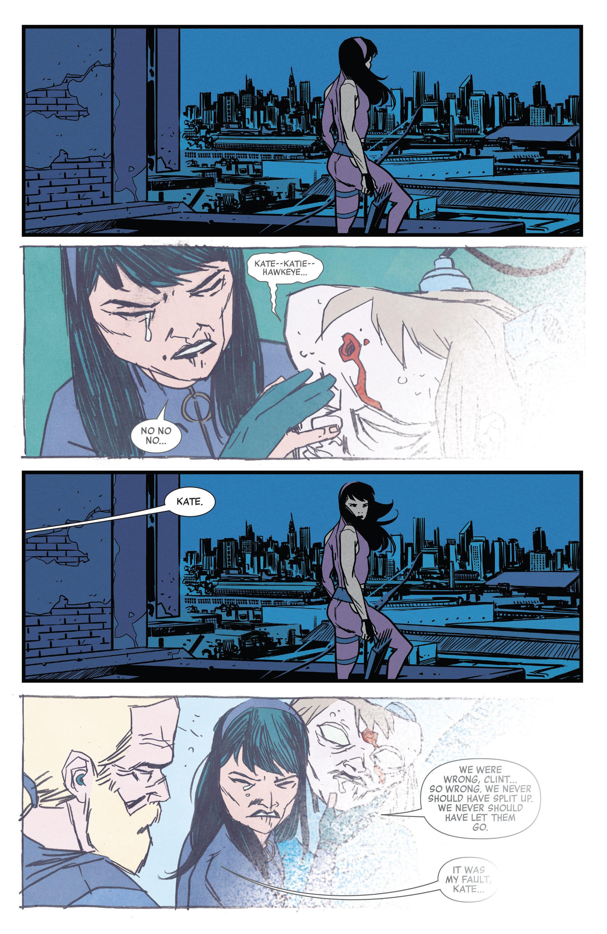 Read online All-New Hawkeye (2016) comic -  Issue #3 - 19