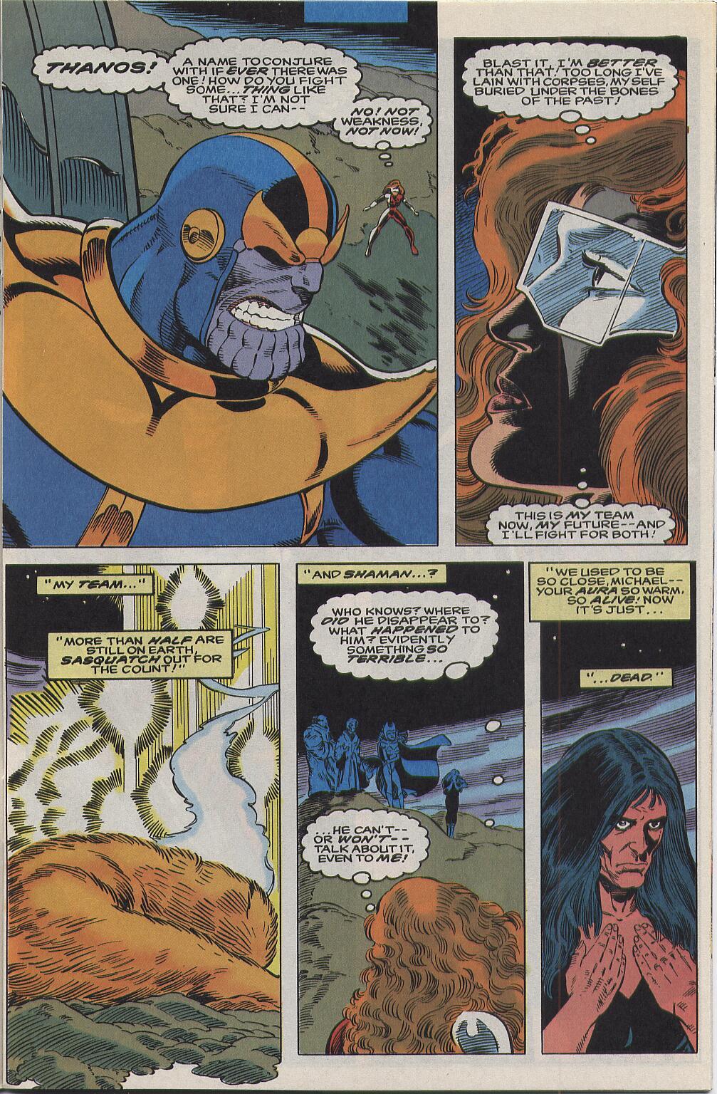 Read online Alpha Flight (1983) comic -  Issue #111 - 8