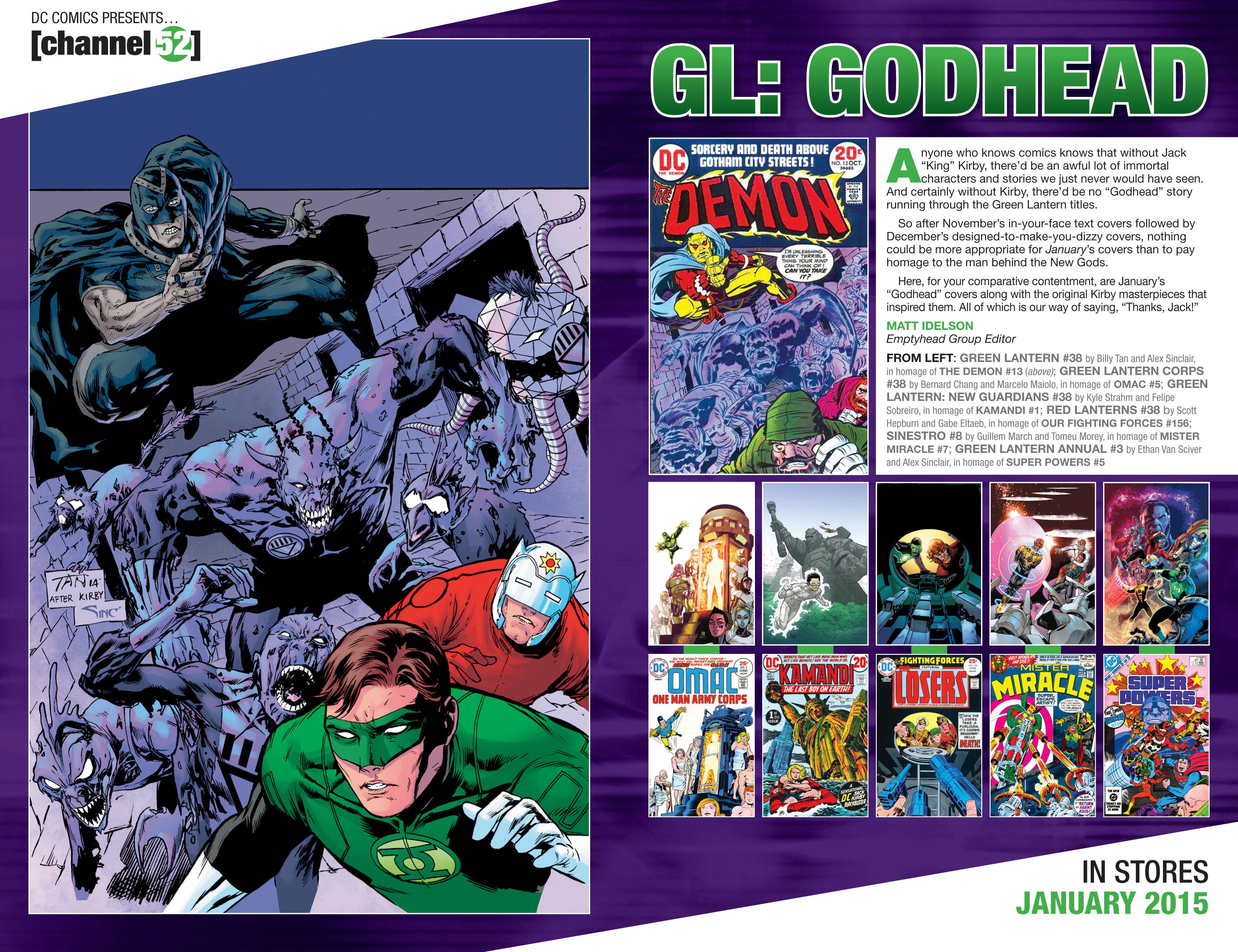 Read online Secret Origins (2014) comic -  Issue #8 - 32