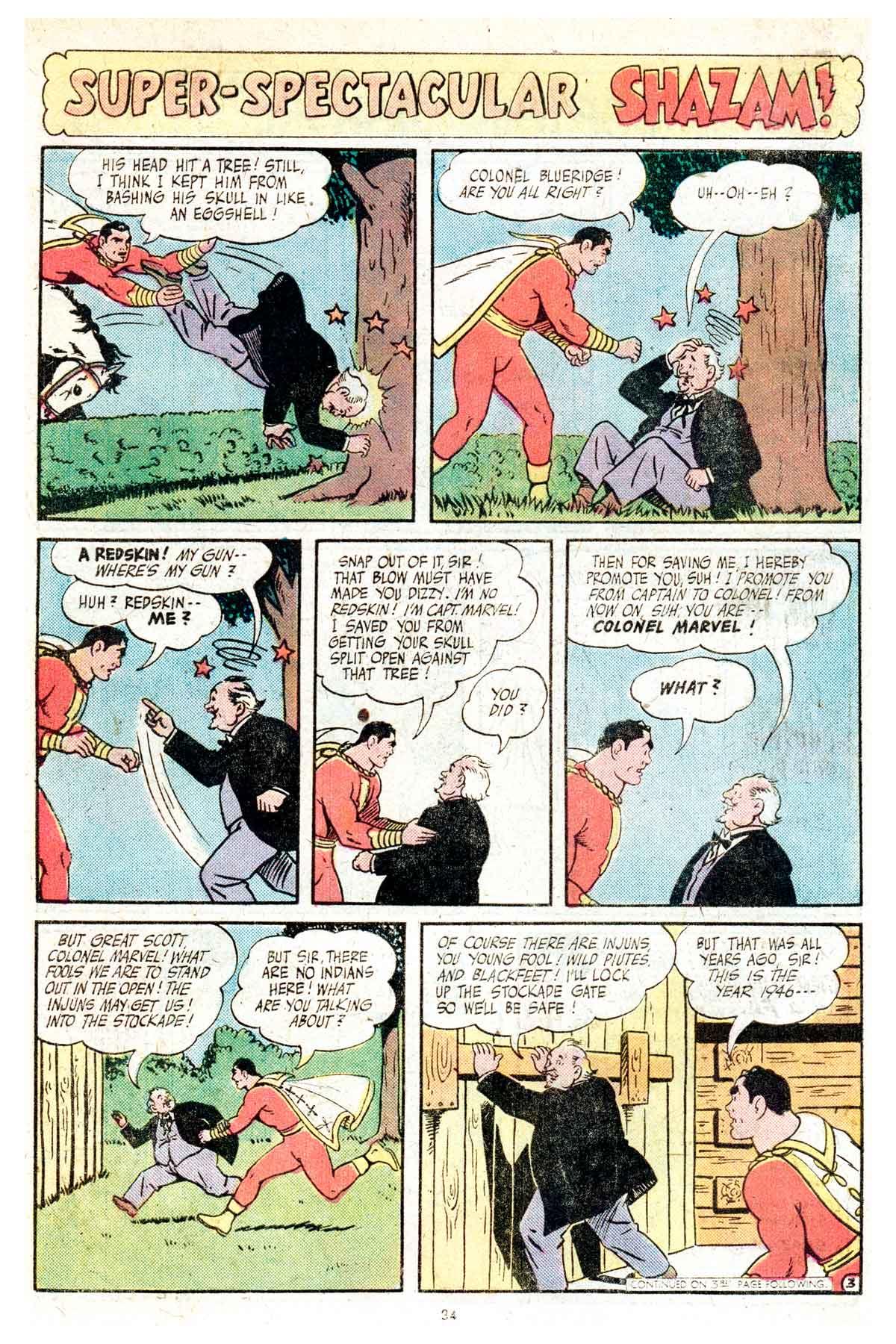 Read online Shazam! (1973) comic -  Issue #17 - 34