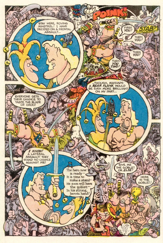 Read online Sergio Aragonés Groo the Wanderer comic -  Issue #10 - 22