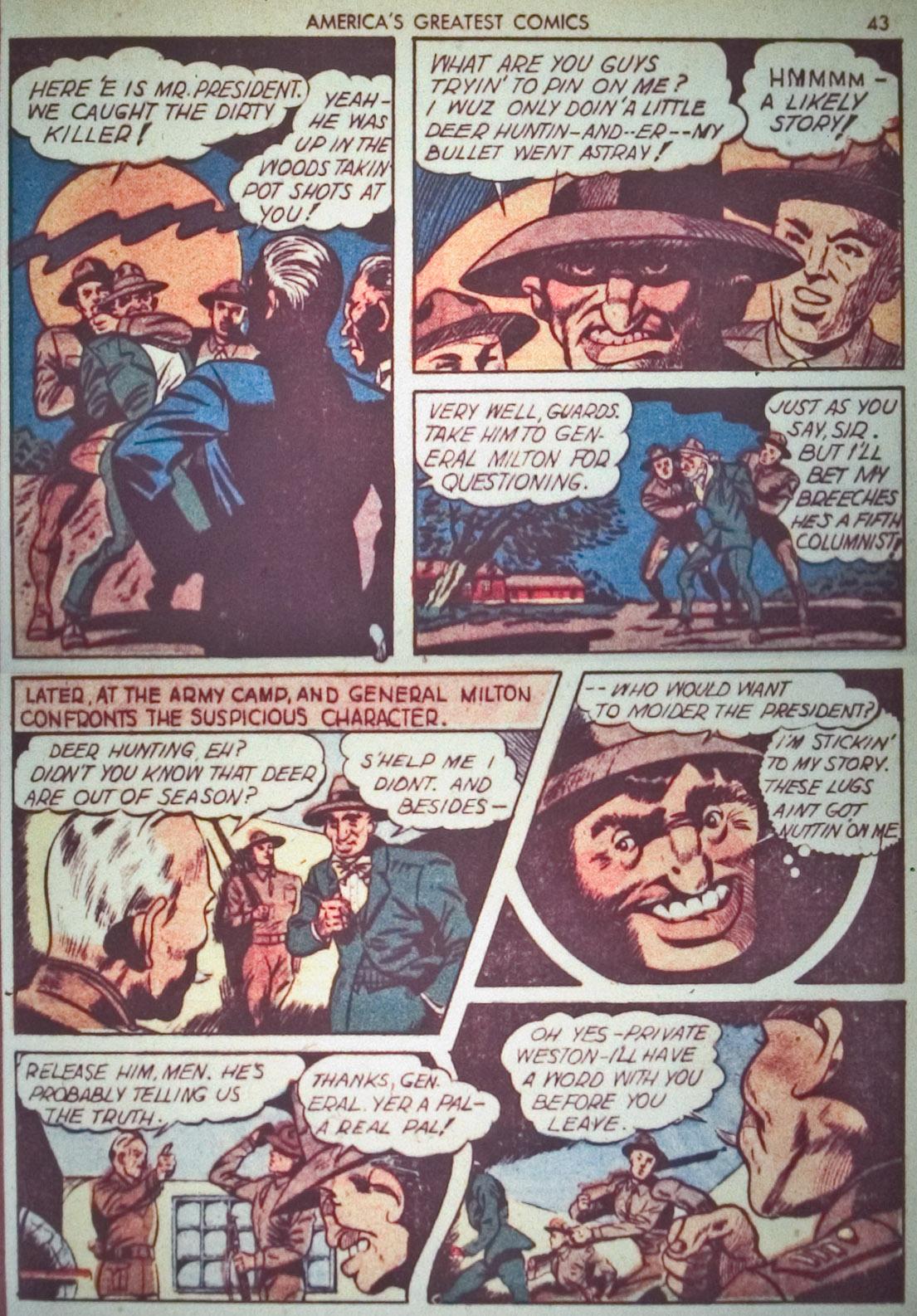 Read online America's Greatest Comics comic -  Issue #1 - 46