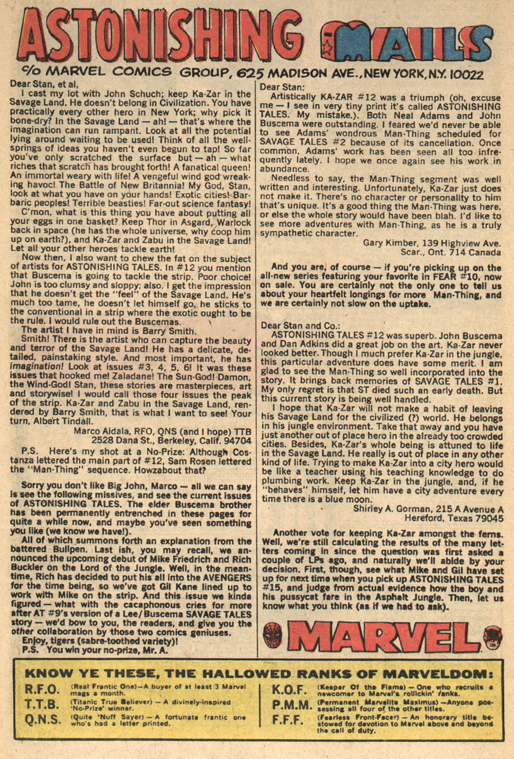 Astonishing Tales (1970) issue 14 - Page 18