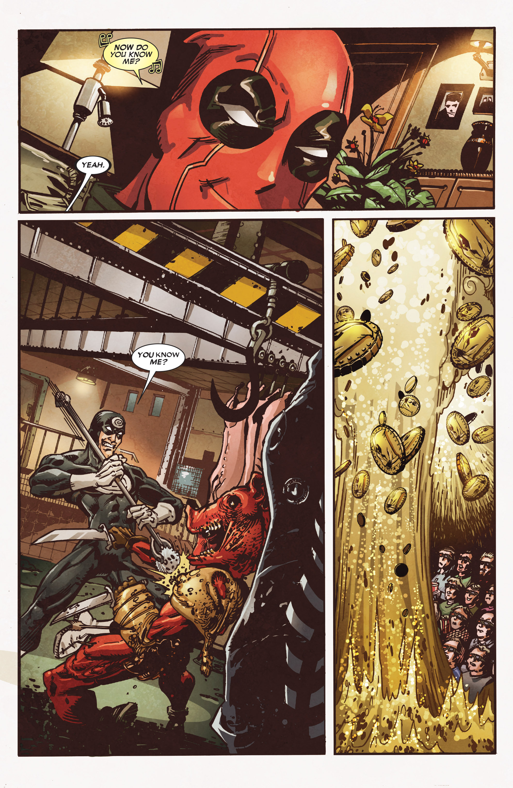 Read online True Believers: Deadpool the Musical comic -  Issue # Full - 10