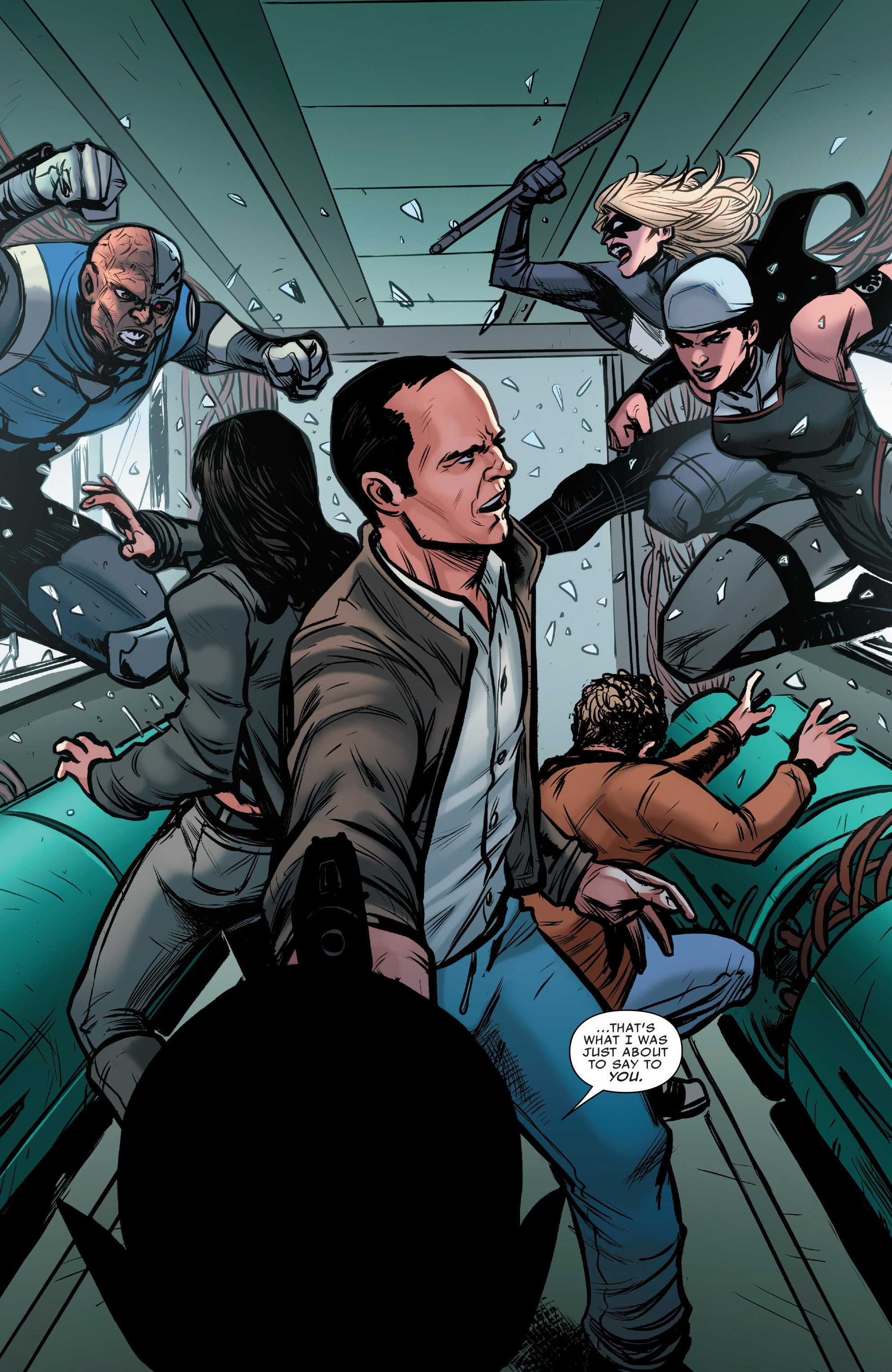 Read online Agents of S.H.I.E.L.D. comic -  Issue #9 - 16