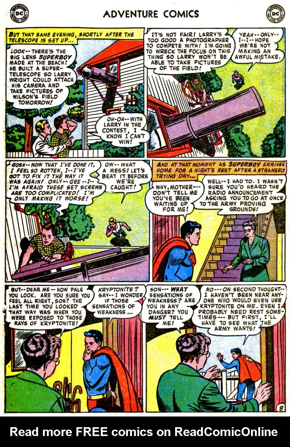 Read online Adventure Comics (1938) comic -  Issue #184 - 10
