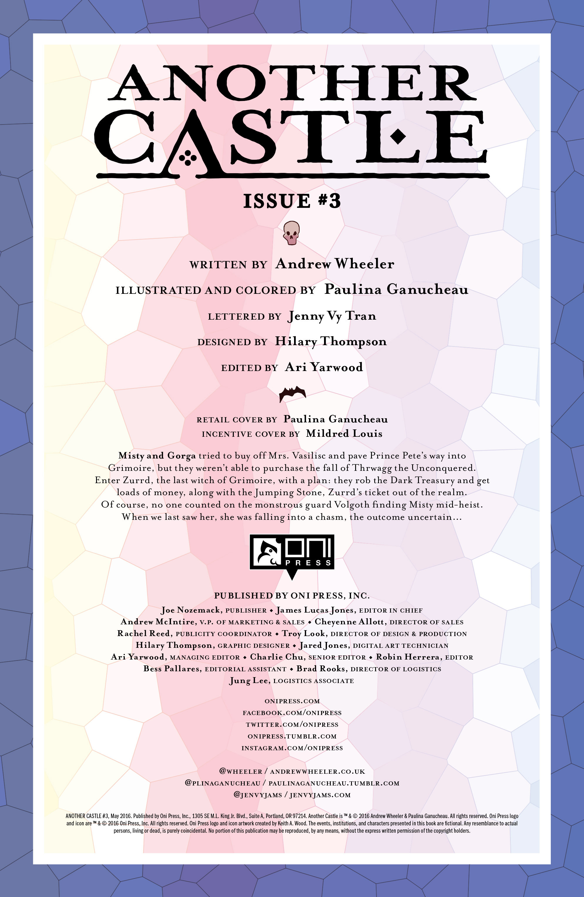 Read online Another Castle comic -  Issue #3 - 2