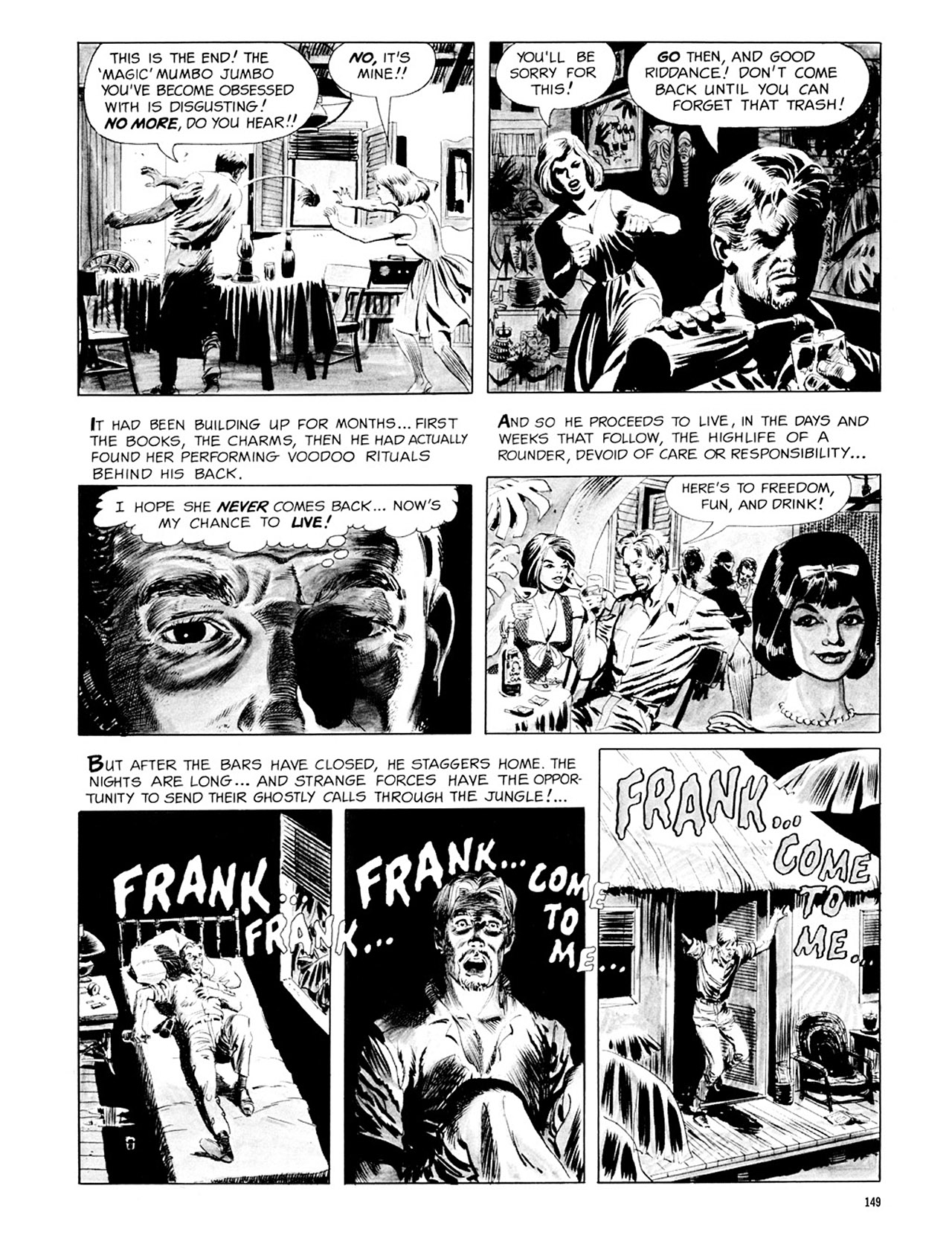 Read online Eerie Archives comic -  Issue # TPB 3 - 150