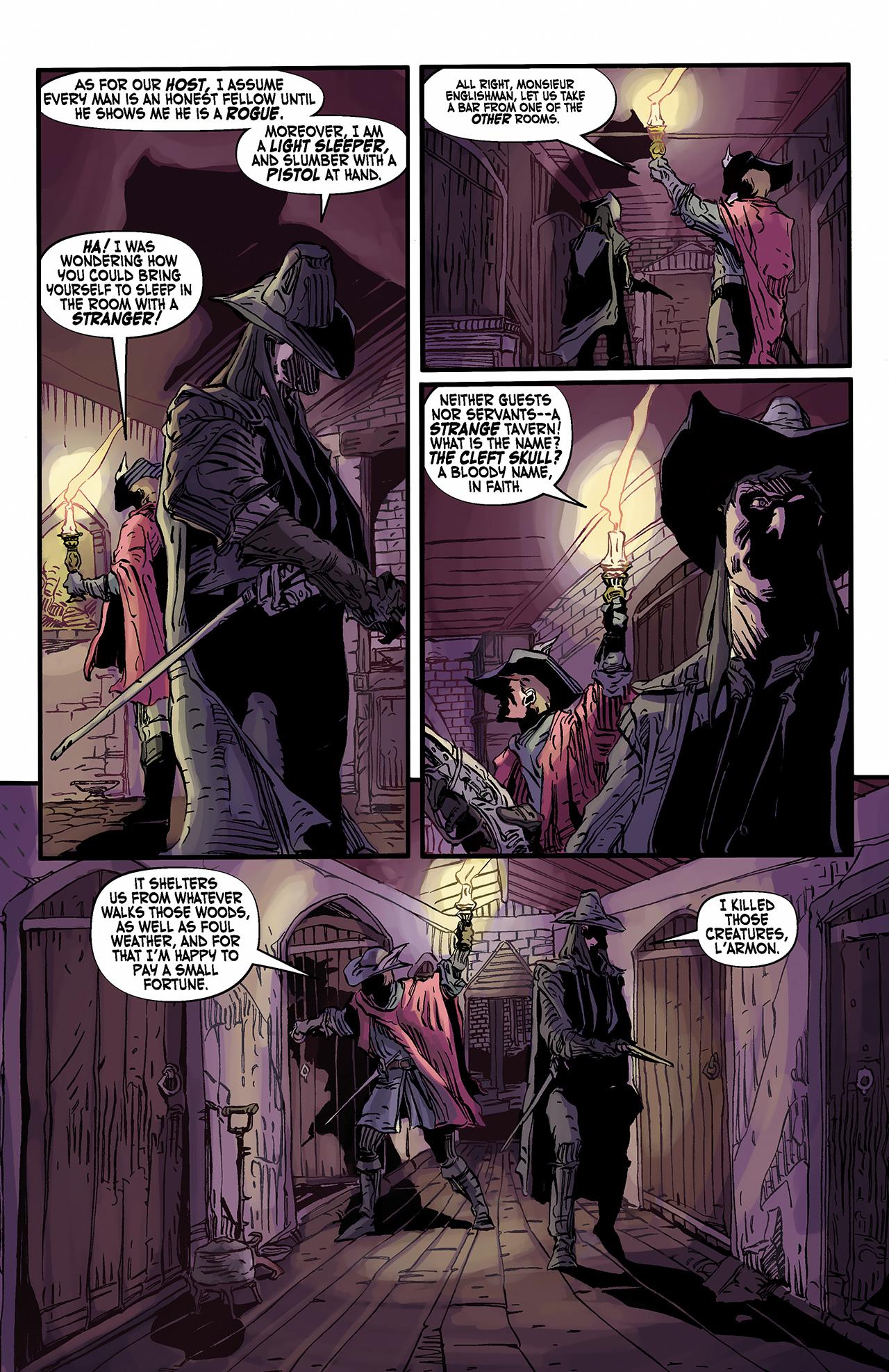 Read online Solomon Kane: Death's Black Riders comic -  Issue #2 - 11