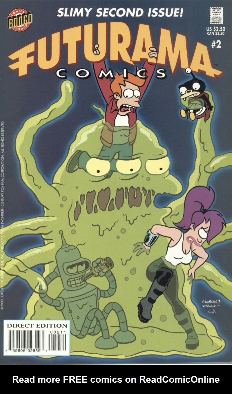 Futurama Comics issue 2 - Page 1