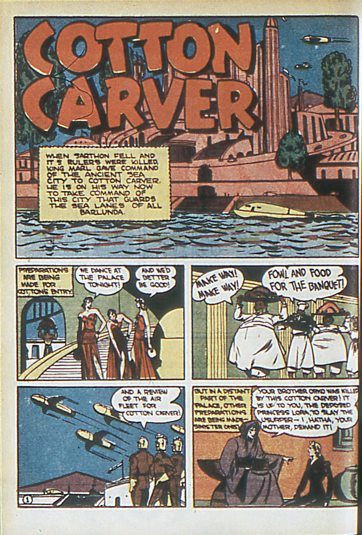 Read online Adventure Comics (1938) comic -  Issue #63 - 49