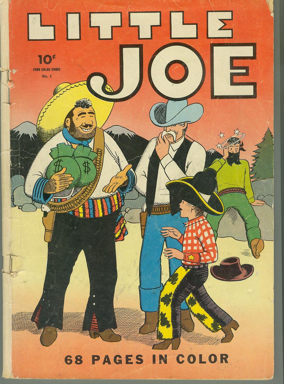 Four Color Comics 1 Page 1