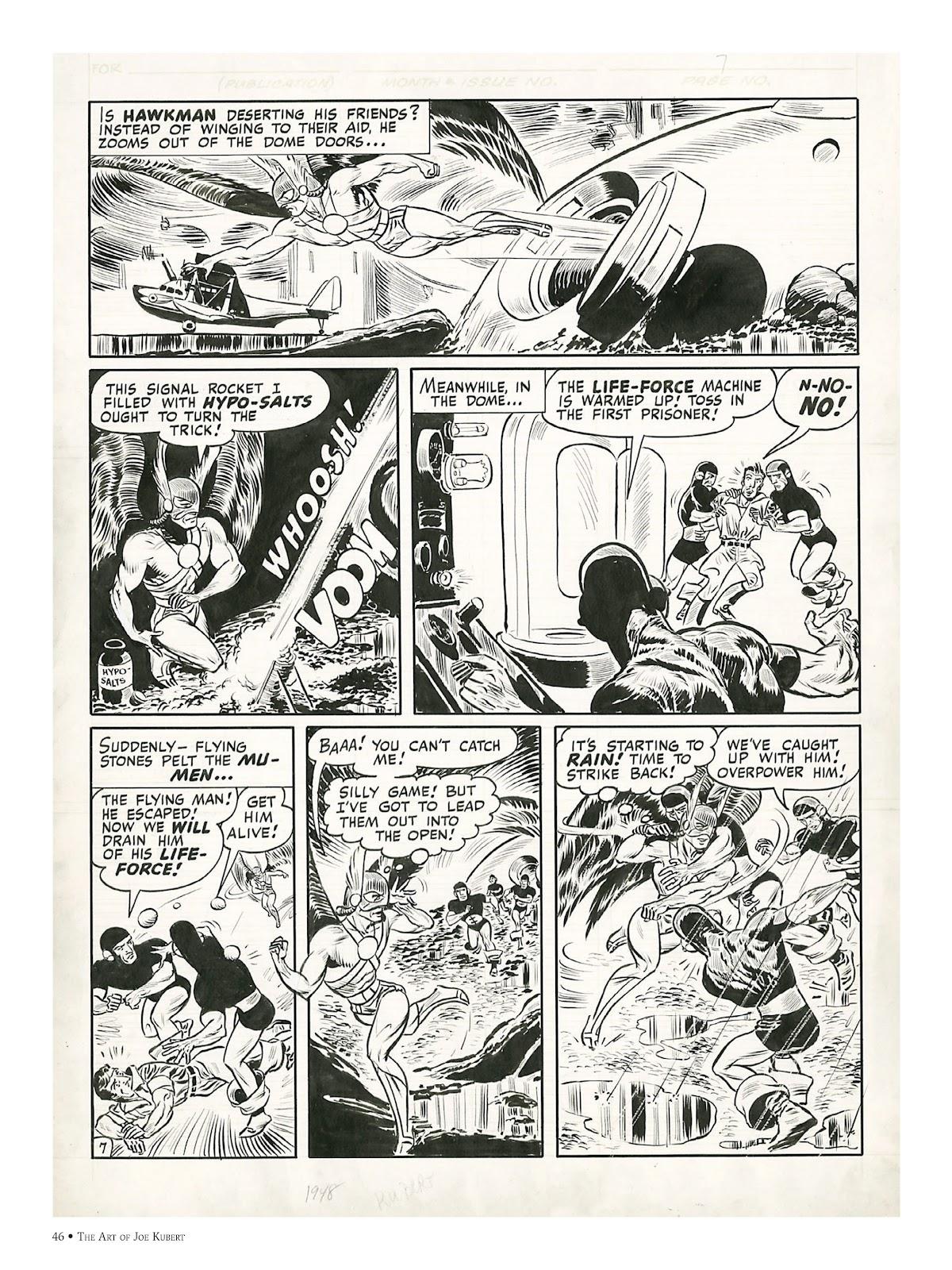 Read online The Art of Joe Kubert comic -  Issue # TPB (Part 1) - 45