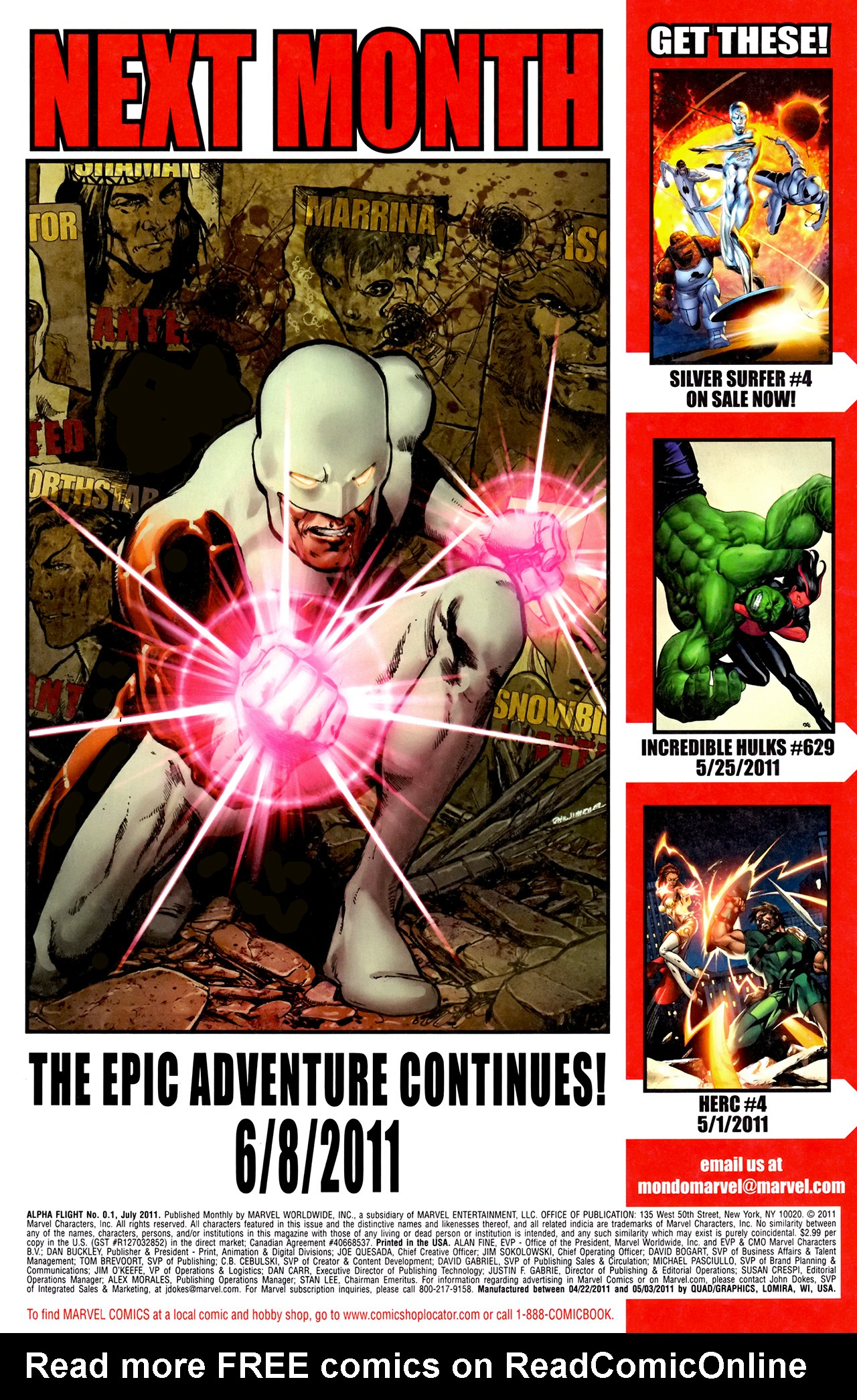 Read online Alpha Flight (2011) comic -  Issue #0.1 - 23