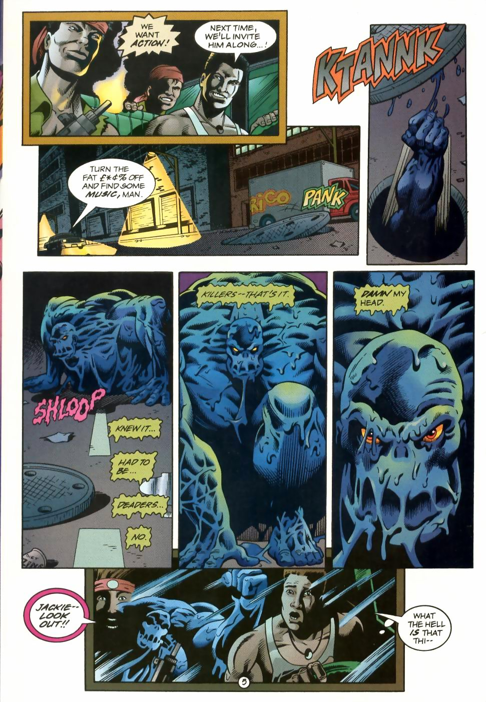 Read online Sludge comic -  Issue #1 - 6