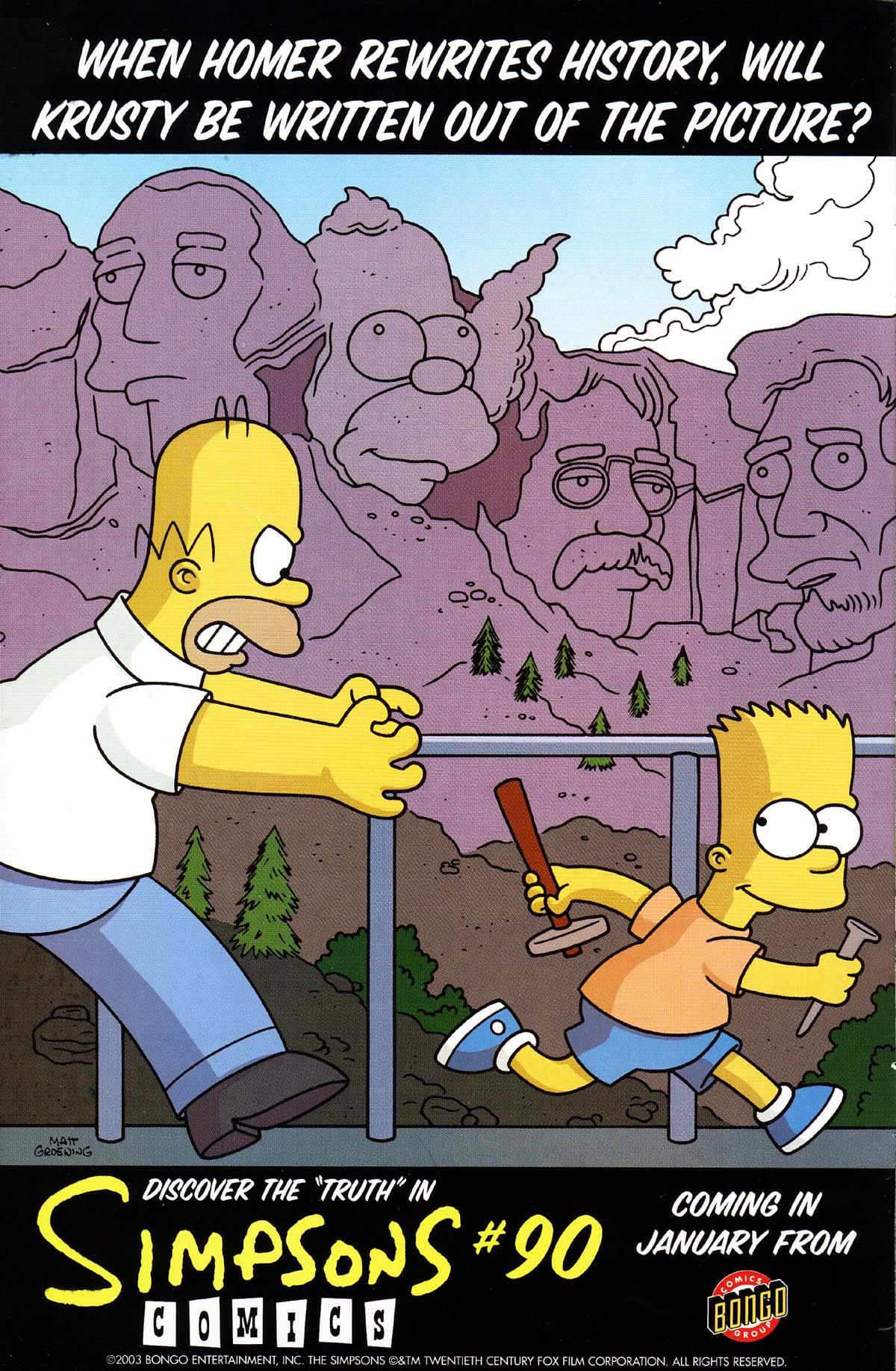 Read online Simpsons Comics Presents Bart Simpson comic -  Issue #15 - 2