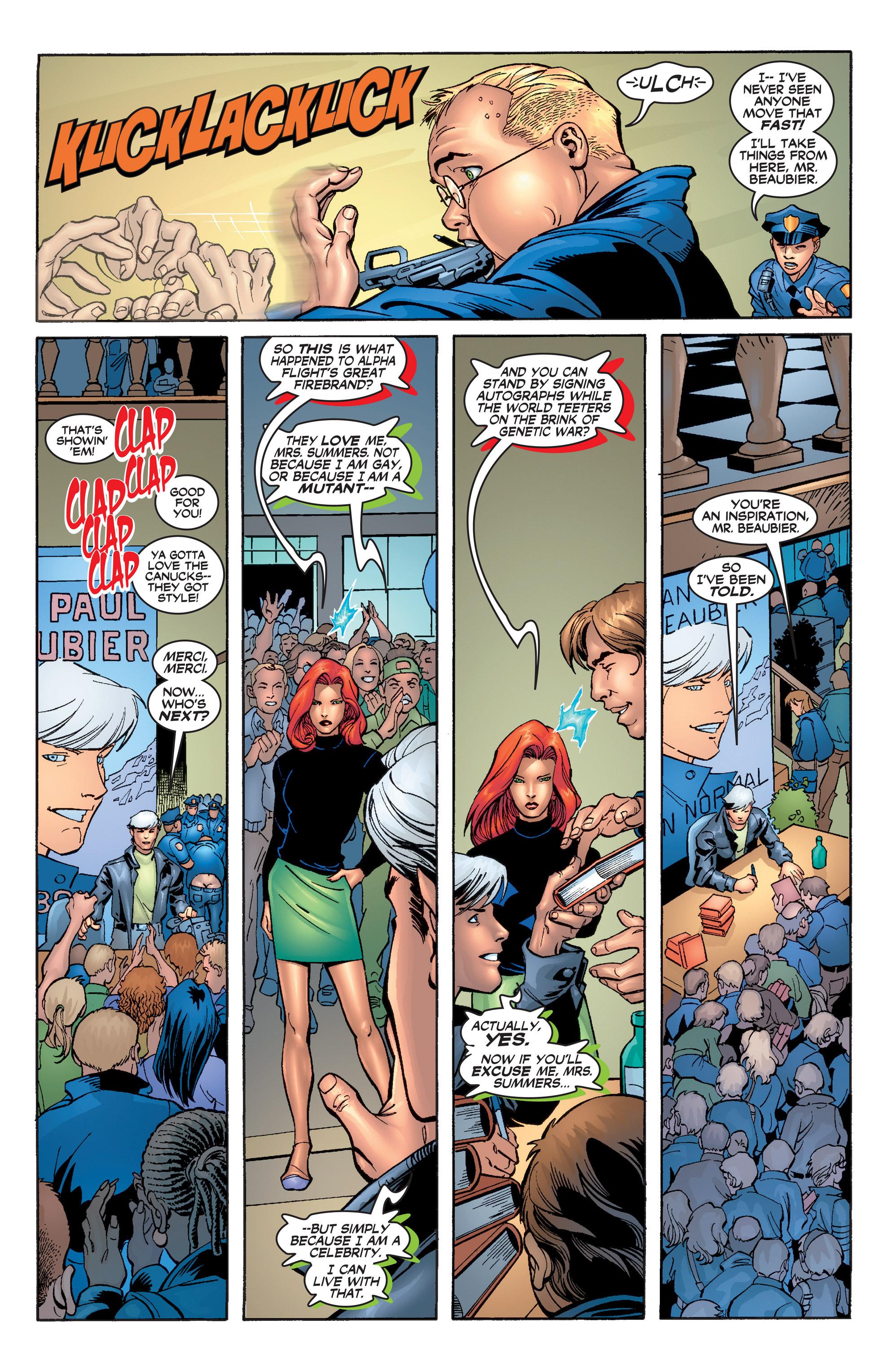 Read online Uncanny X-Men (1963) comic -  Issue #392 - 6