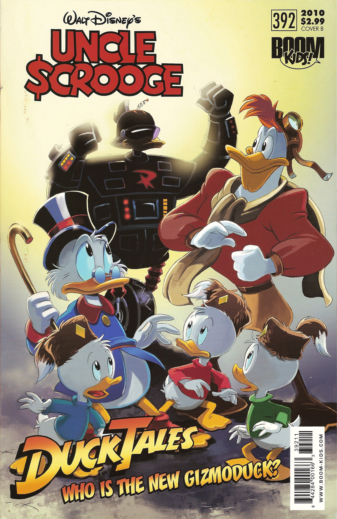 Read online Uncle Scrooge (1953) comic -  Issue #392 - 2